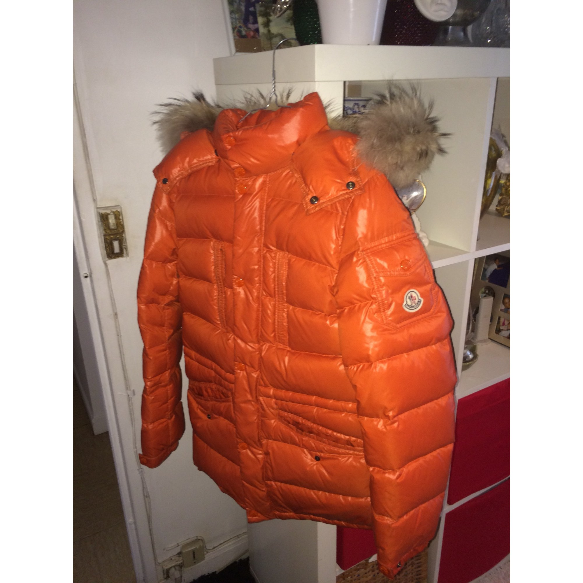 Doudoune MONCLER 46 (S) orange vendu par Louison92290 - 6442508 6e9b8117d55