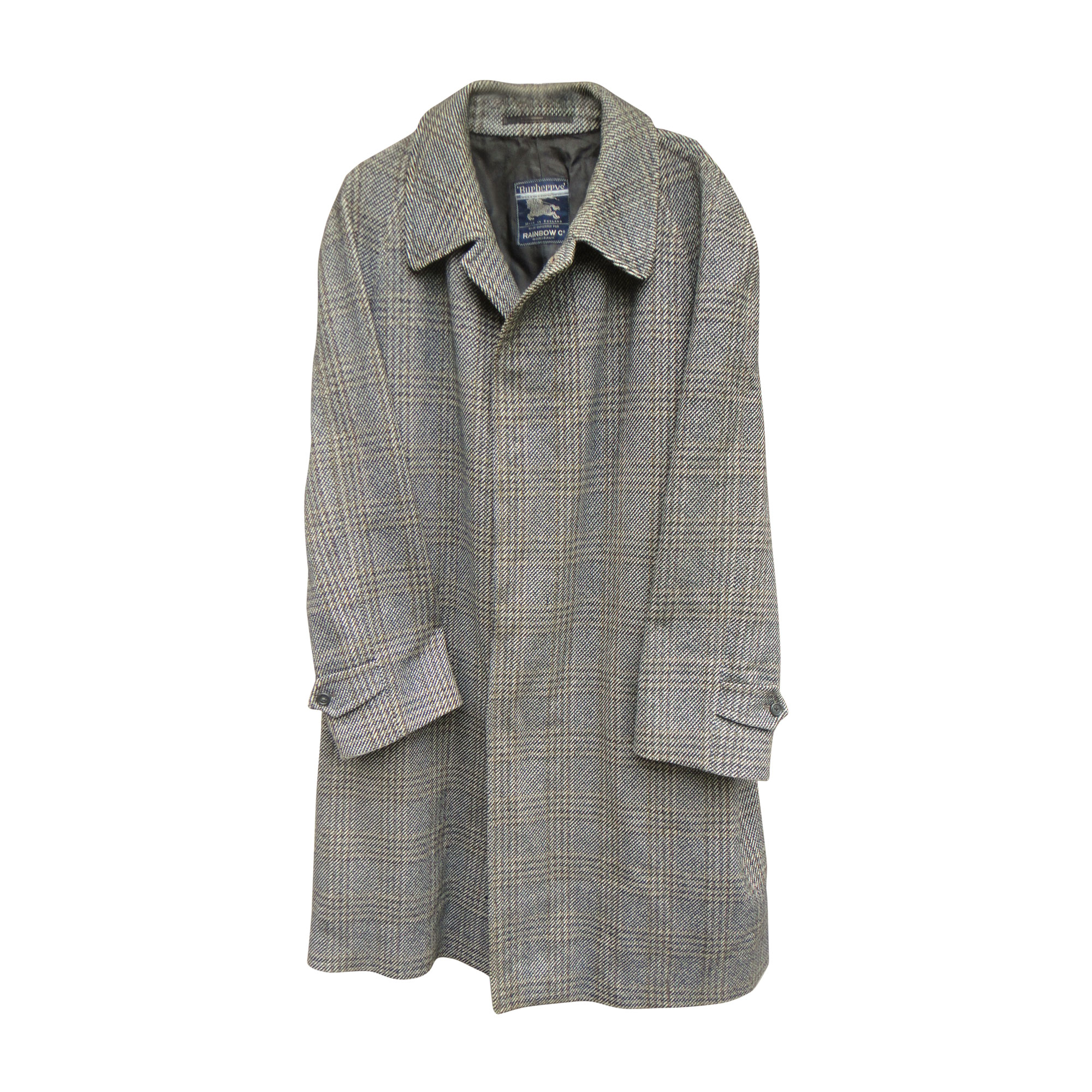 Manteau BURBERRY Gris, anthracite