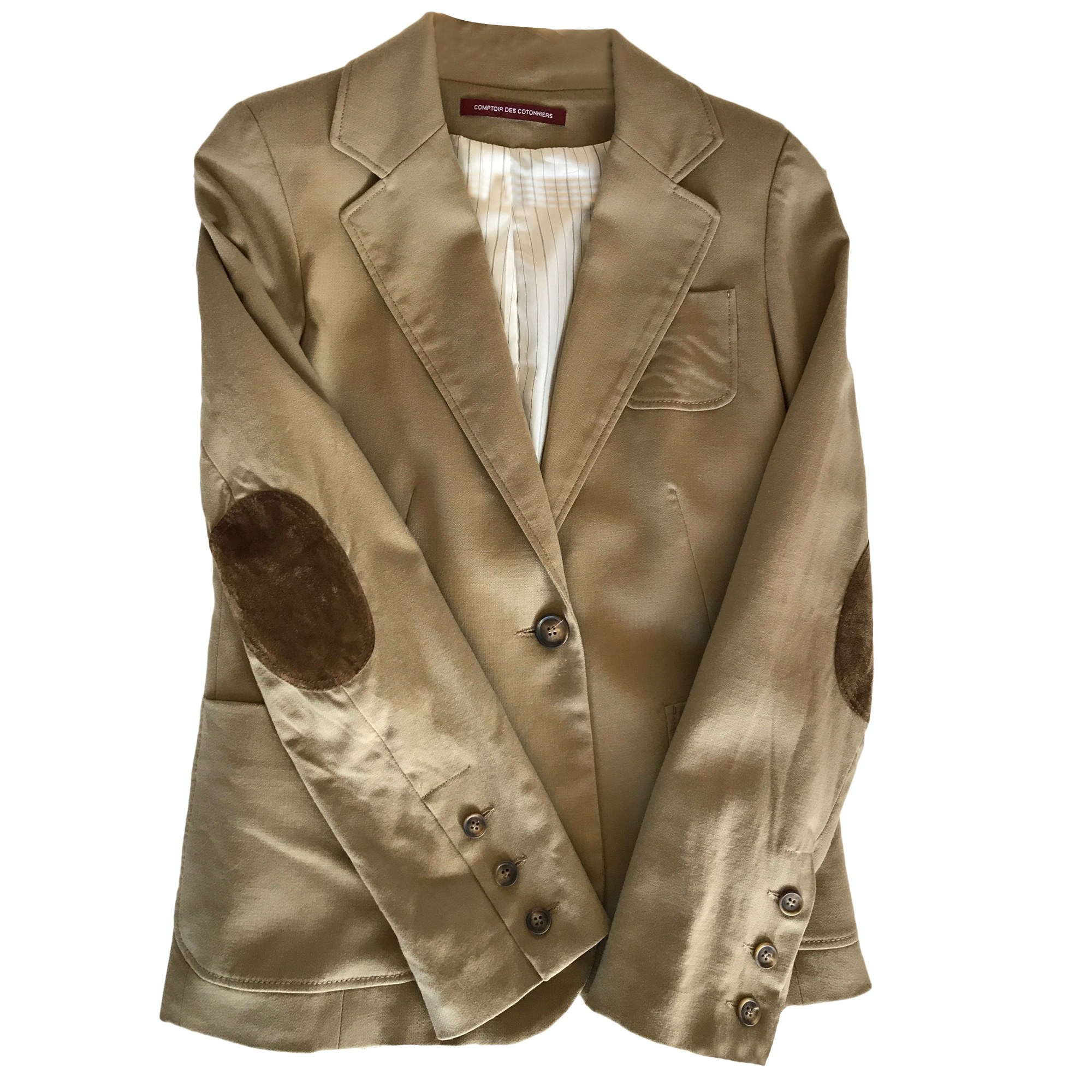 Blazer veste tailleur comptoir des cotonniers 36 s t1 - Comptoir des cotonniers ch ...