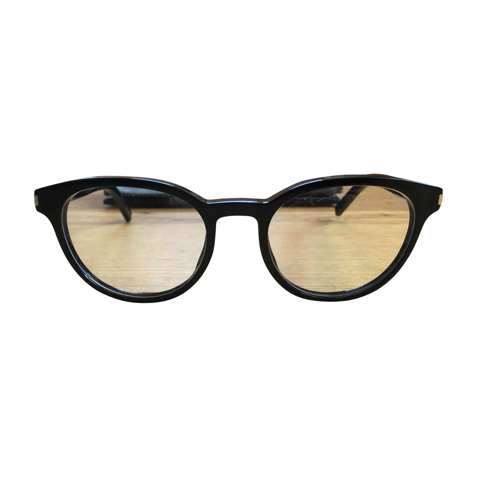 monture de lunettes saint laurent noir 6449486. Black Bedroom Furniture Sets. Home Design Ideas