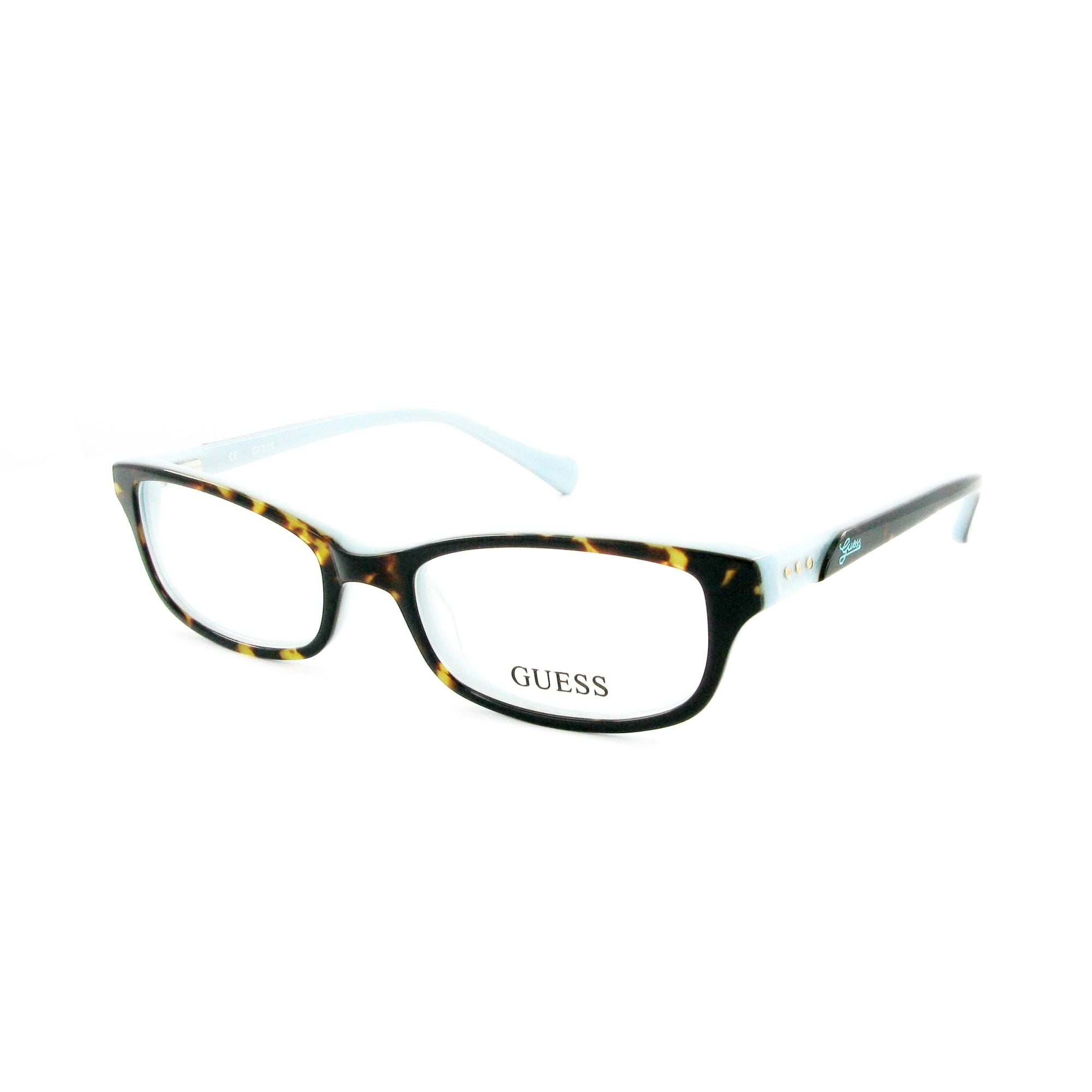 Monture de lunettes GUESS ecaille et bleu - 6449563 86d1f42b2ac8