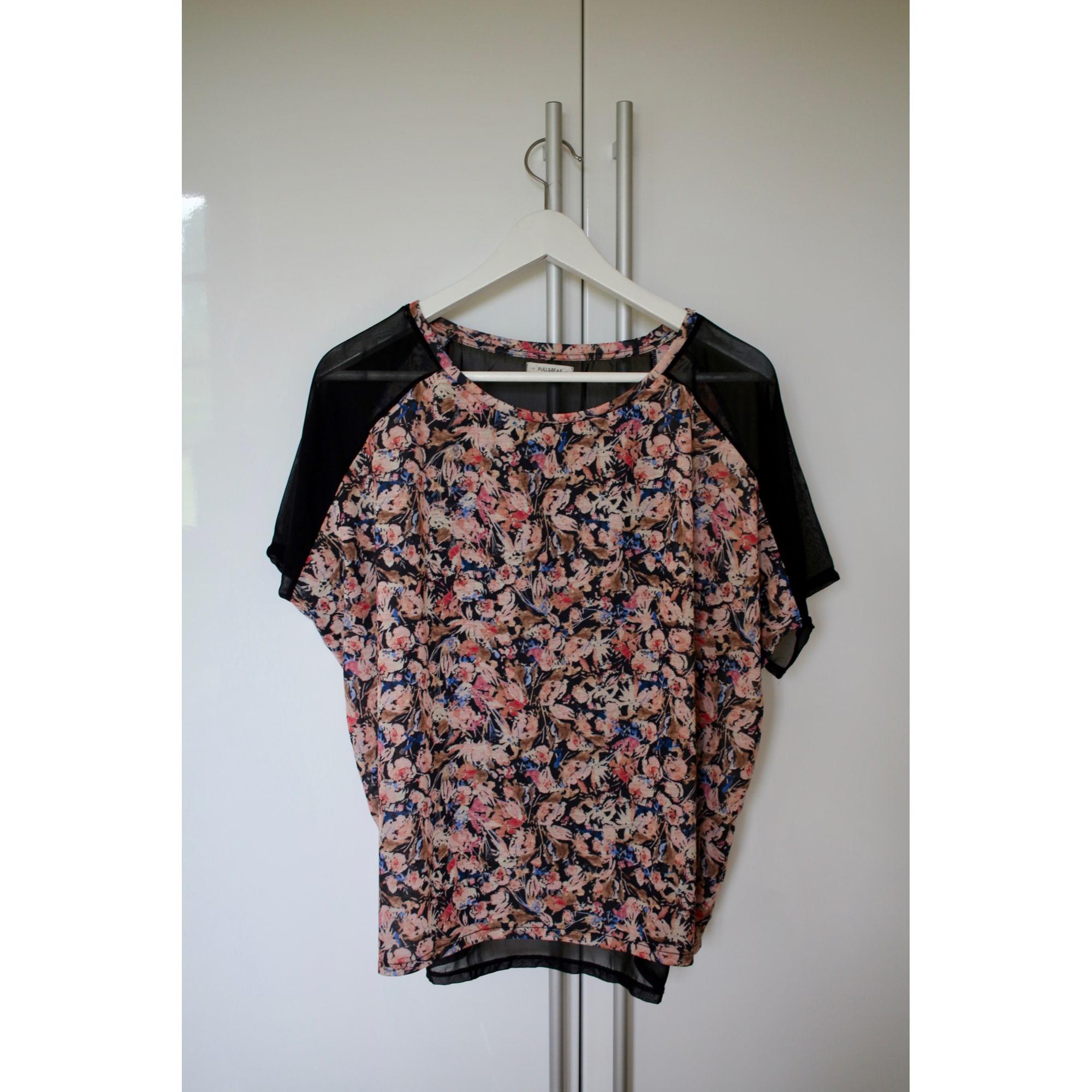 Top, tee-shirt PULL & BEAR Multicouleur