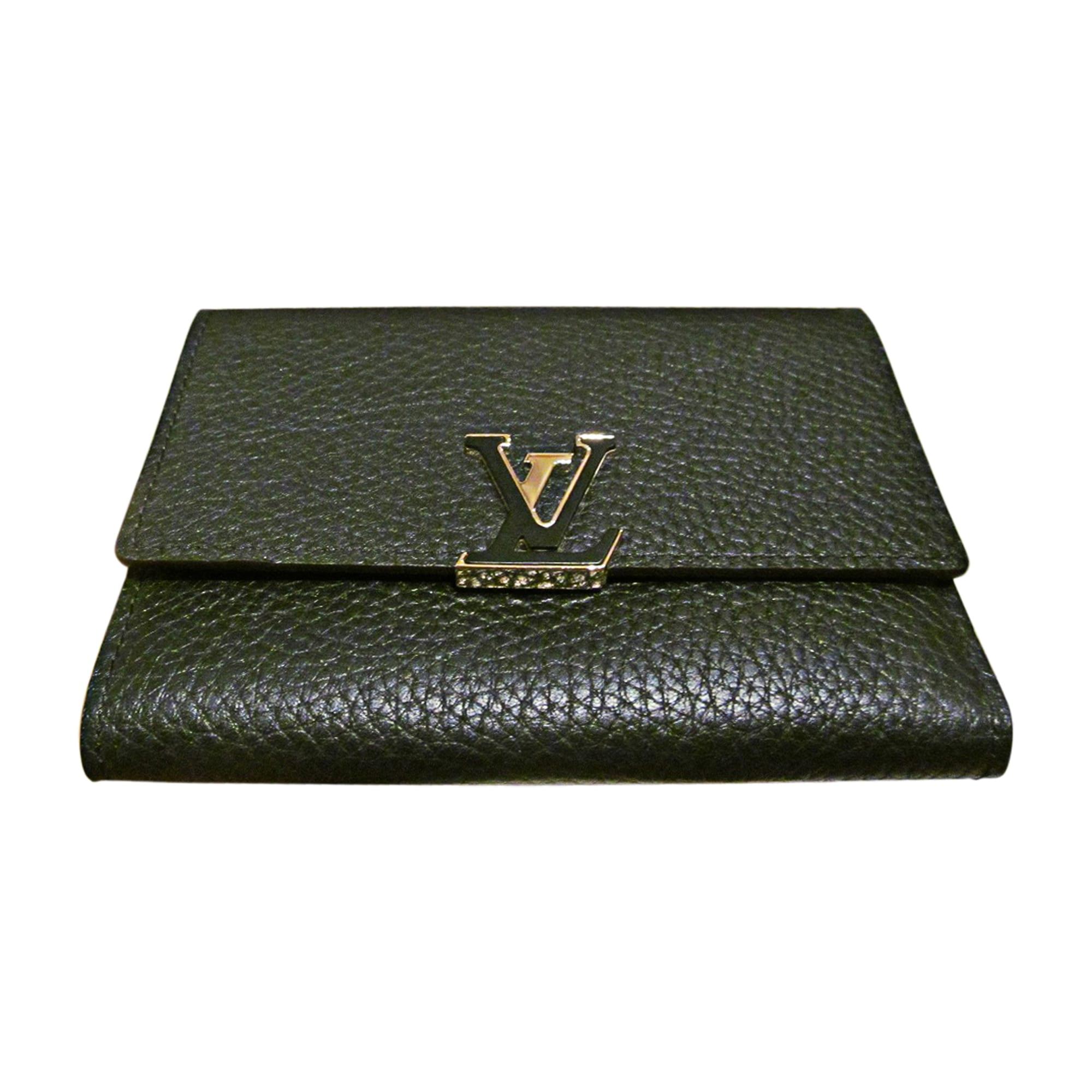 Portefeuille LOUIS VUITTON capucines noir vendu par Le vide dressing ... 9316acab55f