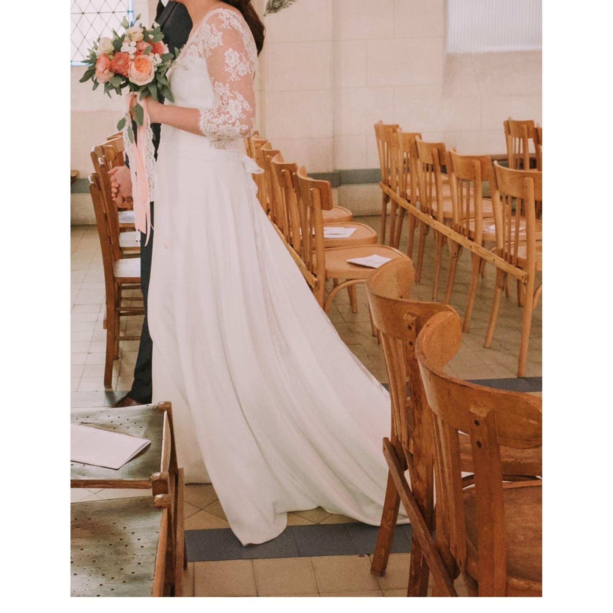 de2e6538b91c3 Robe de mariée MARIE LAPORTE 38 (M