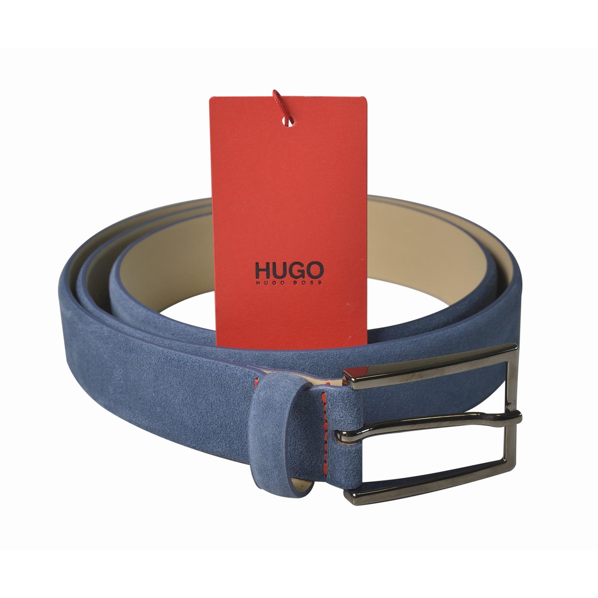 4ca77287c5c Ceinture HUGO BOSS 90 bleu vendu par Dress-code 75 - 6478140