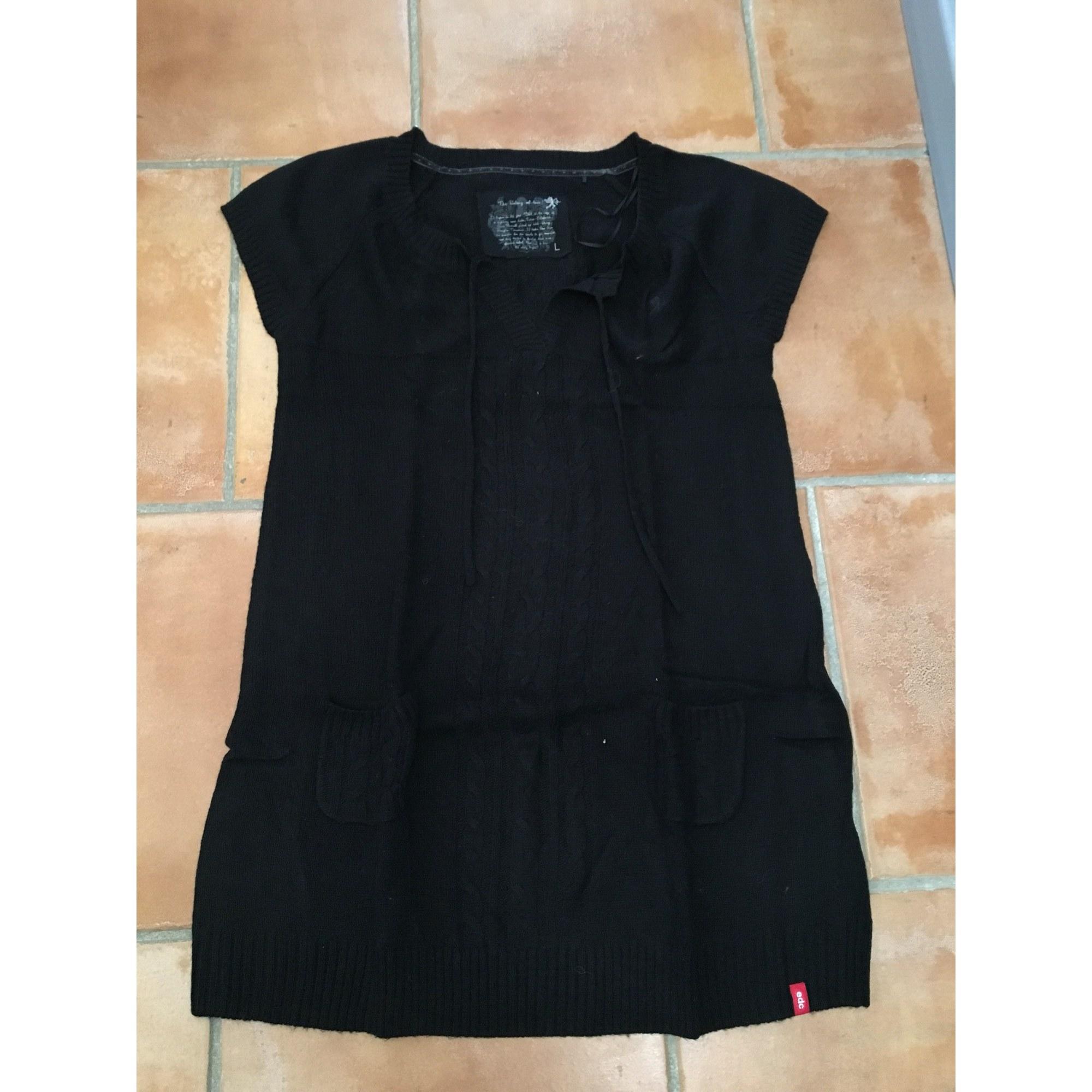 6480813 By Esprit Pull Robe Edc 42 Noir T4 lxl 8EpTx