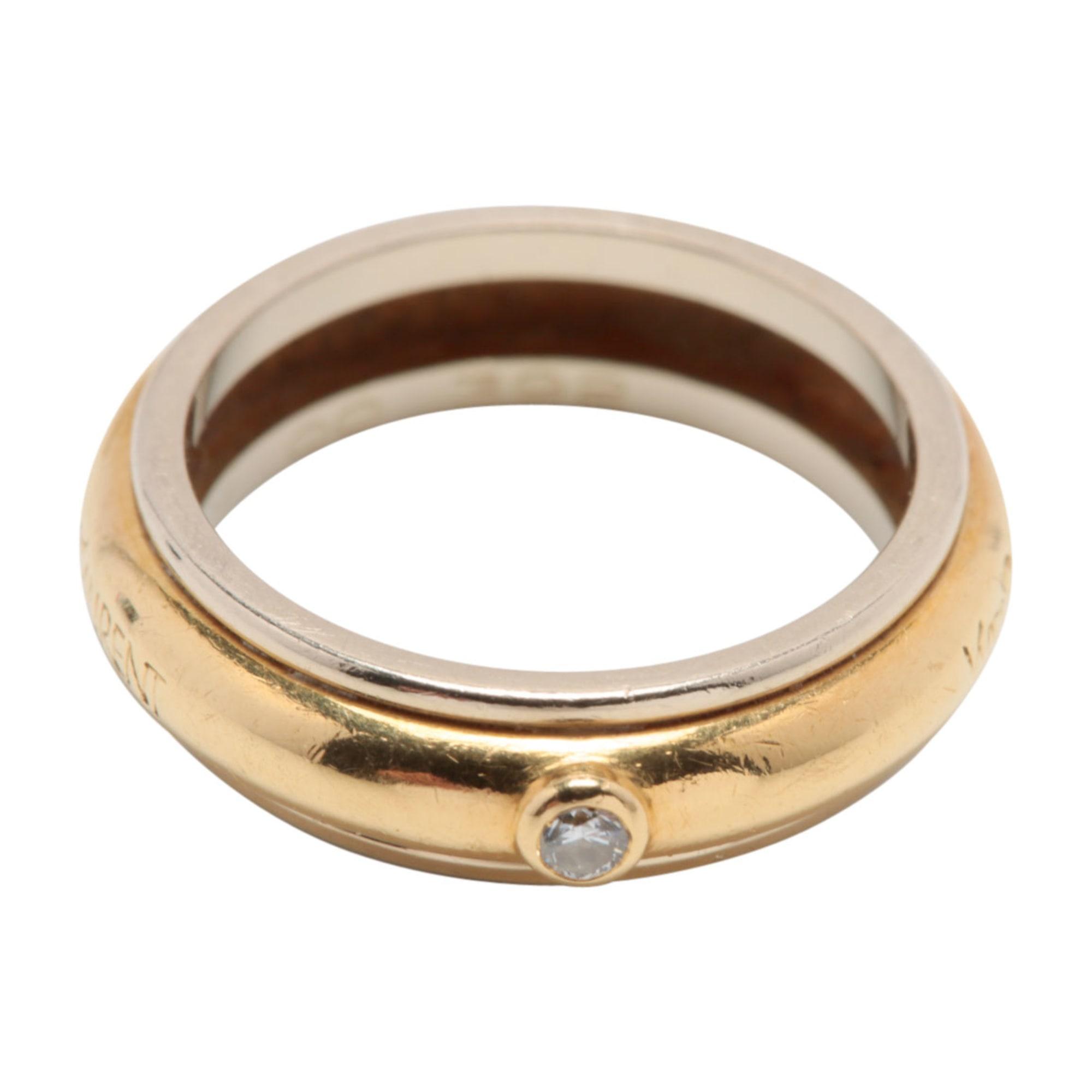 ring yves saint laurent 50 golden 6480900. Black Bedroom Furniture Sets. Home Design Ideas