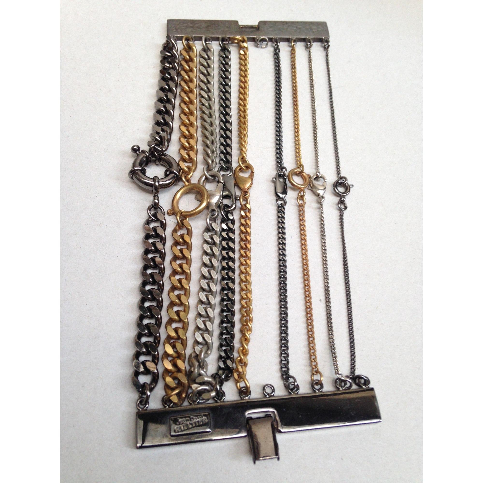 Bracelet JEAN PAUL GAULTIER métal doré