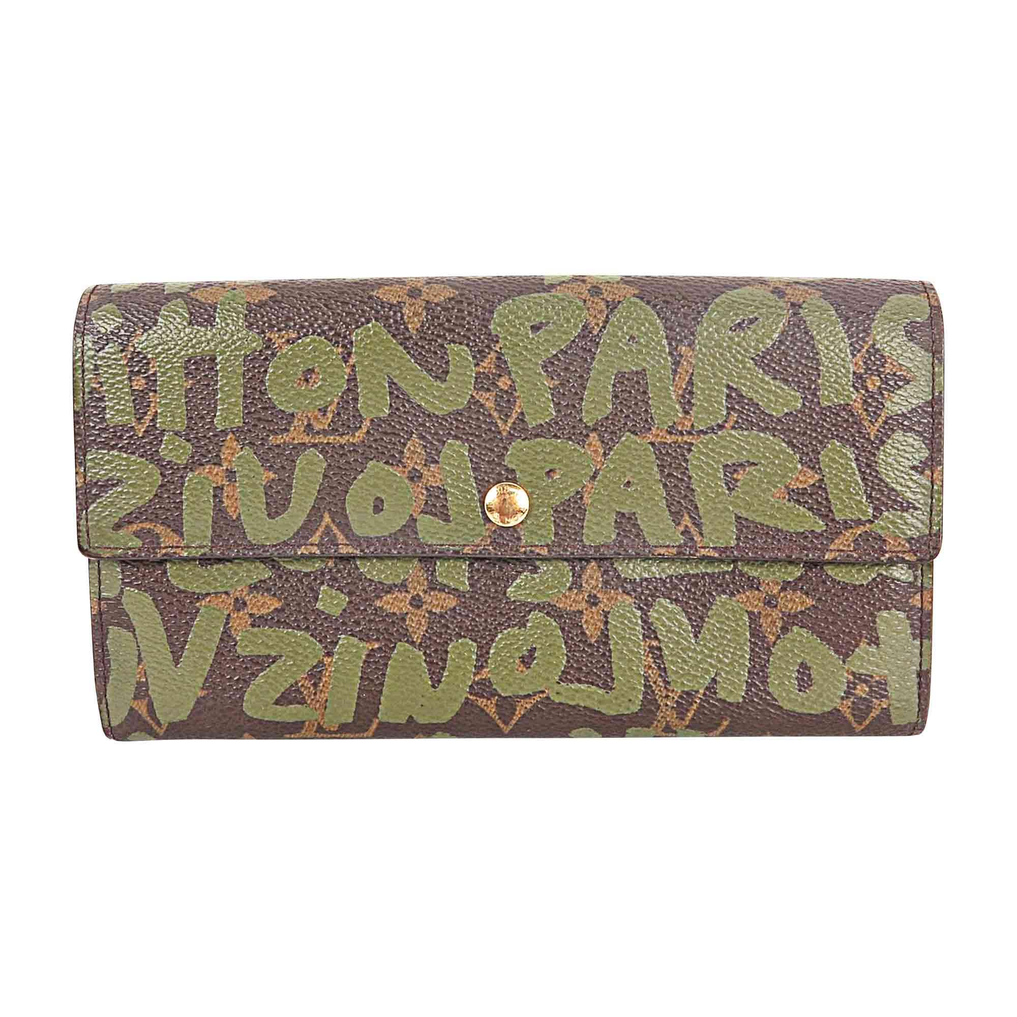 Wallet LOUIS VUITTON Khaki