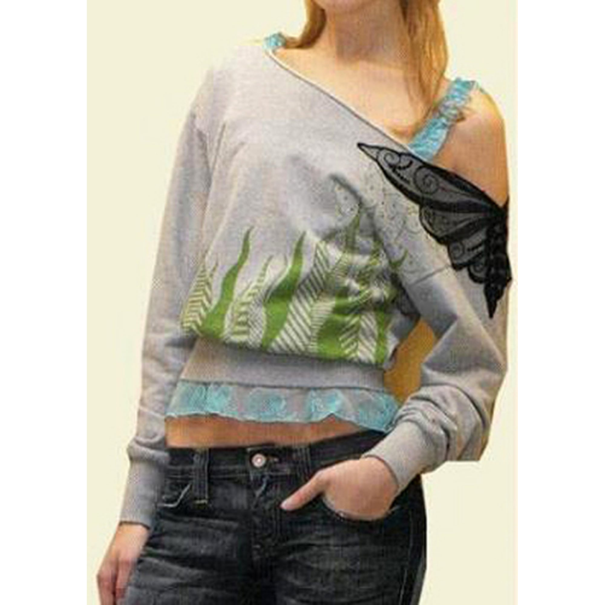 Pull FORNARINA Gris, anthracite
