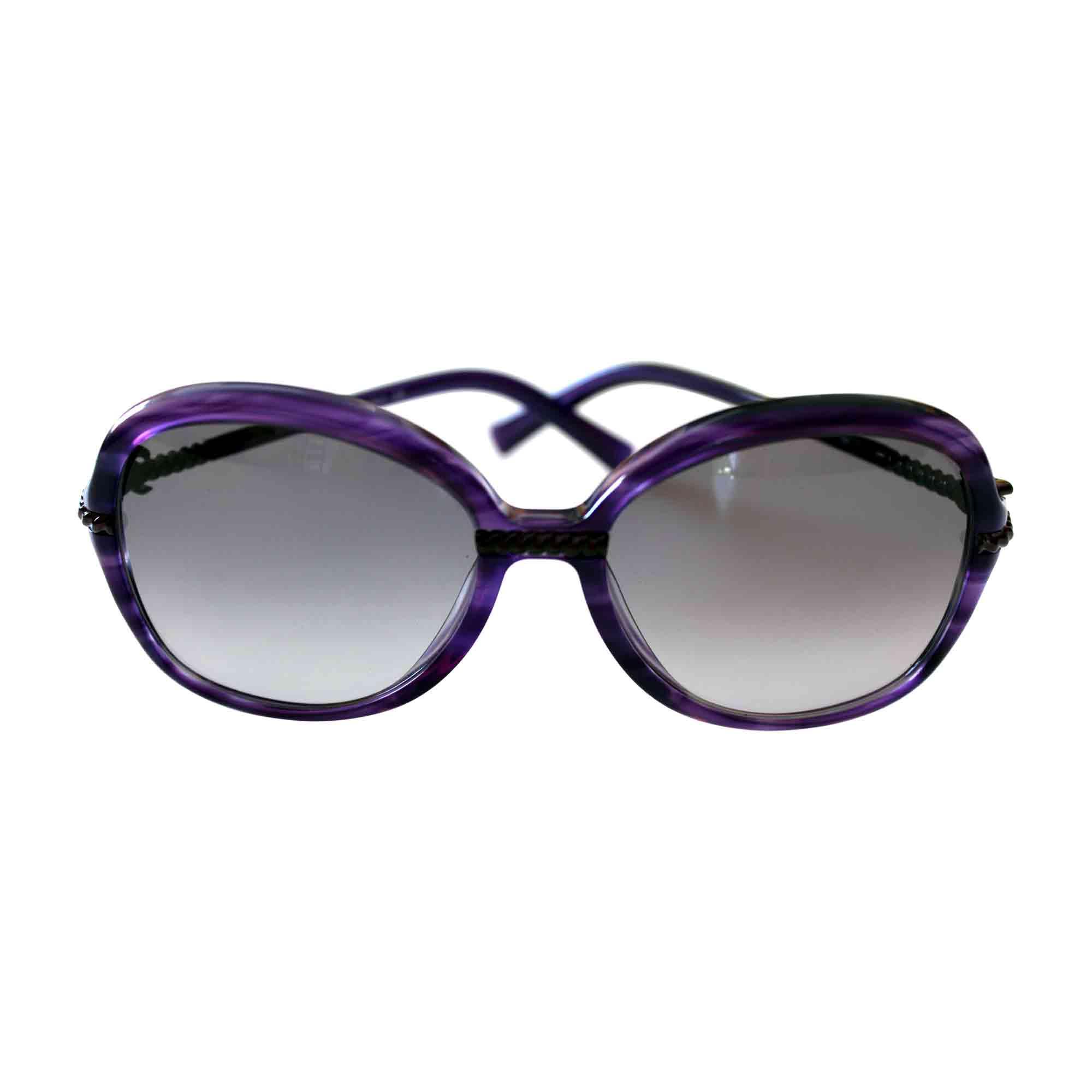 241e836ebdc Lunettes de soleil JOHN GALLIANO violet vendu par Camyshs - 6496517