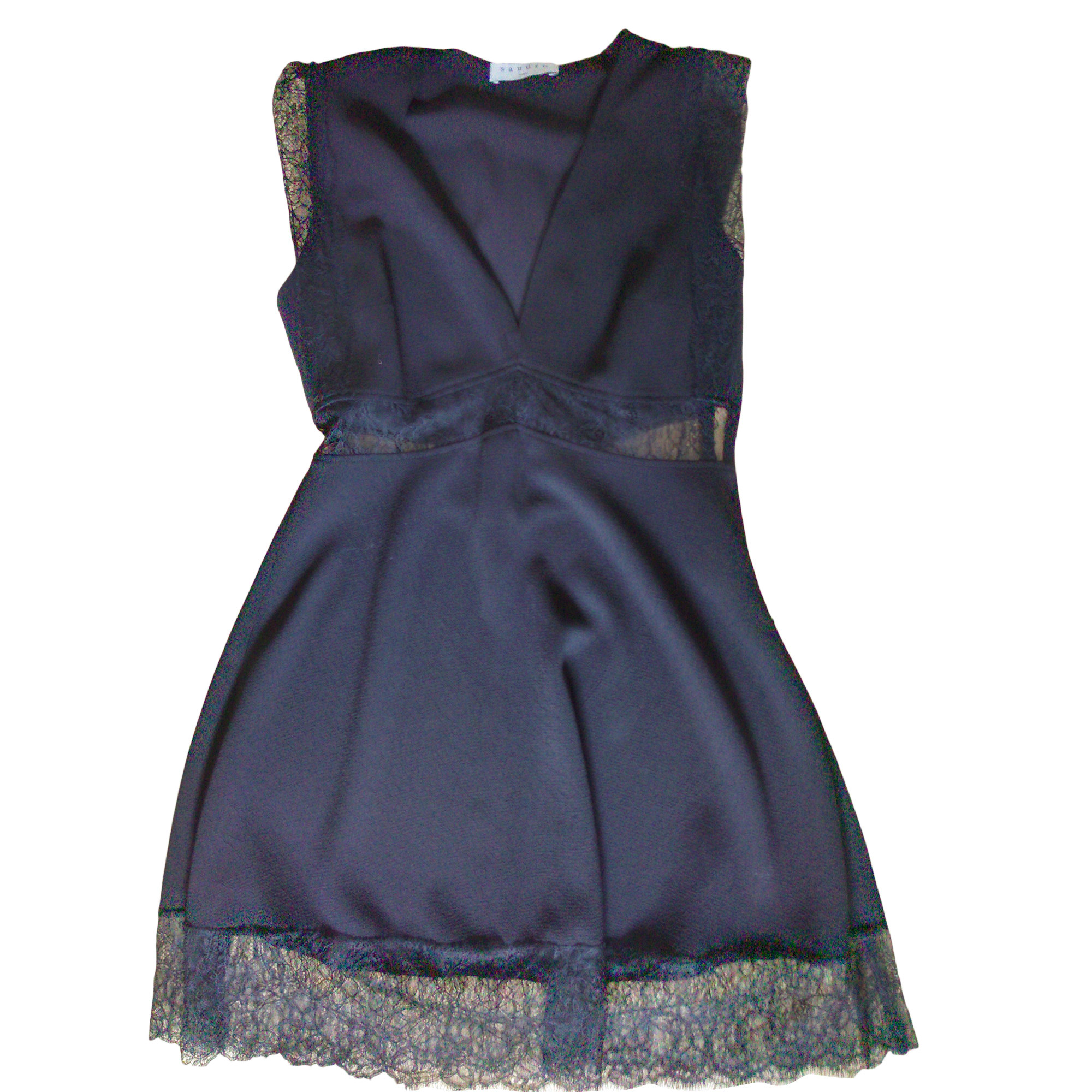 Mini Dress SANDRO Black