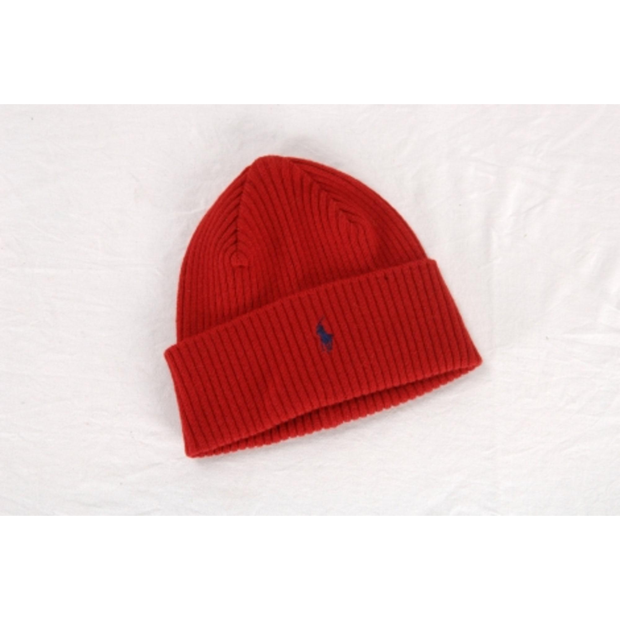570c05b24bf Bonnet RALPH LAUREN Taille unique rouge vendu par Benji29 - 6508471