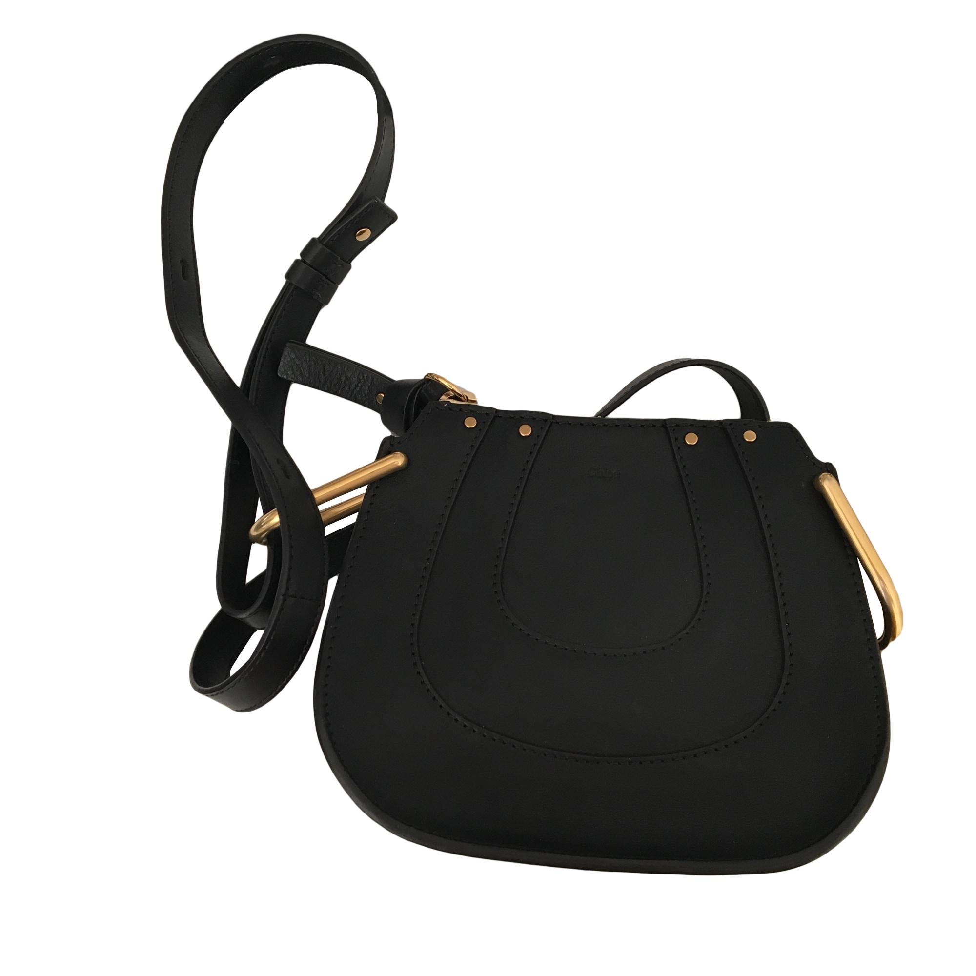 sac en bandouli re en cuir chlo noir vendu par stella fox 6515702. Black Bedroom Furniture Sets. Home Design Ideas