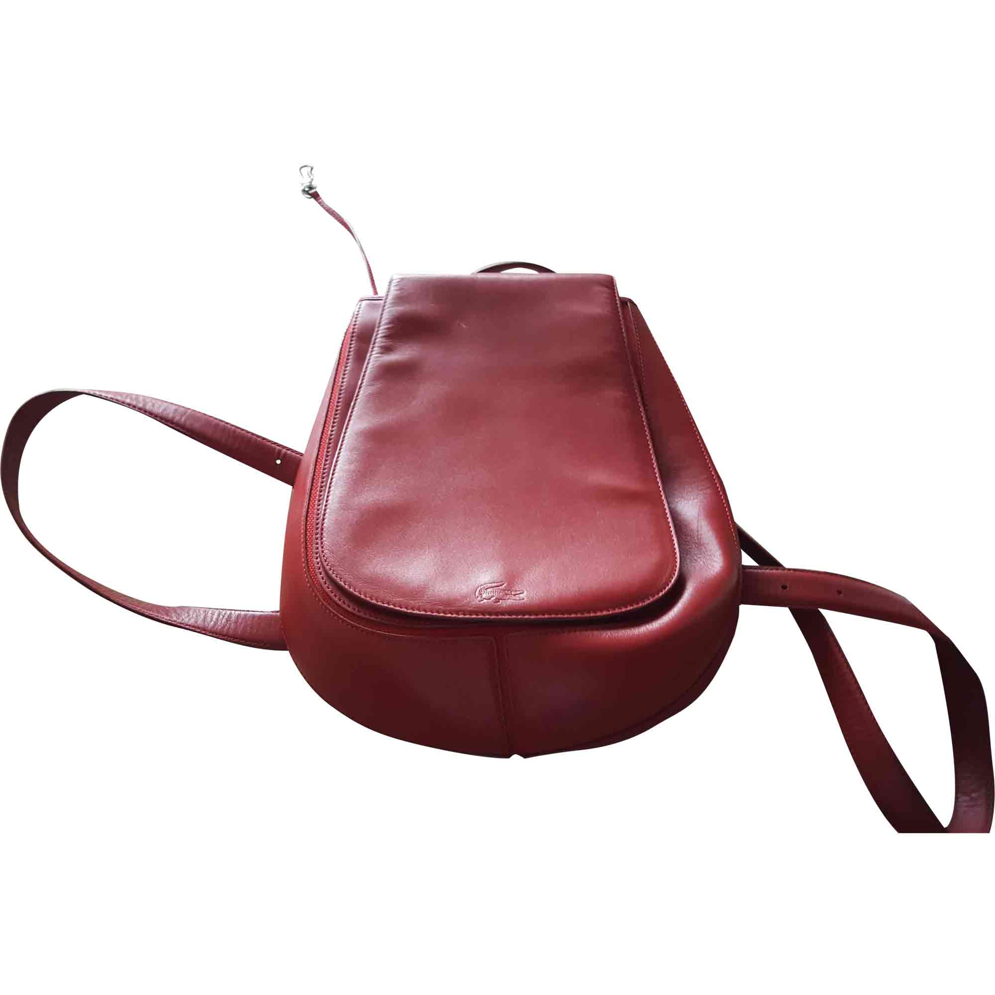 c06c3977bd Sac à dos LACOSTE rouge vendu par Mode et luxe - 6516782