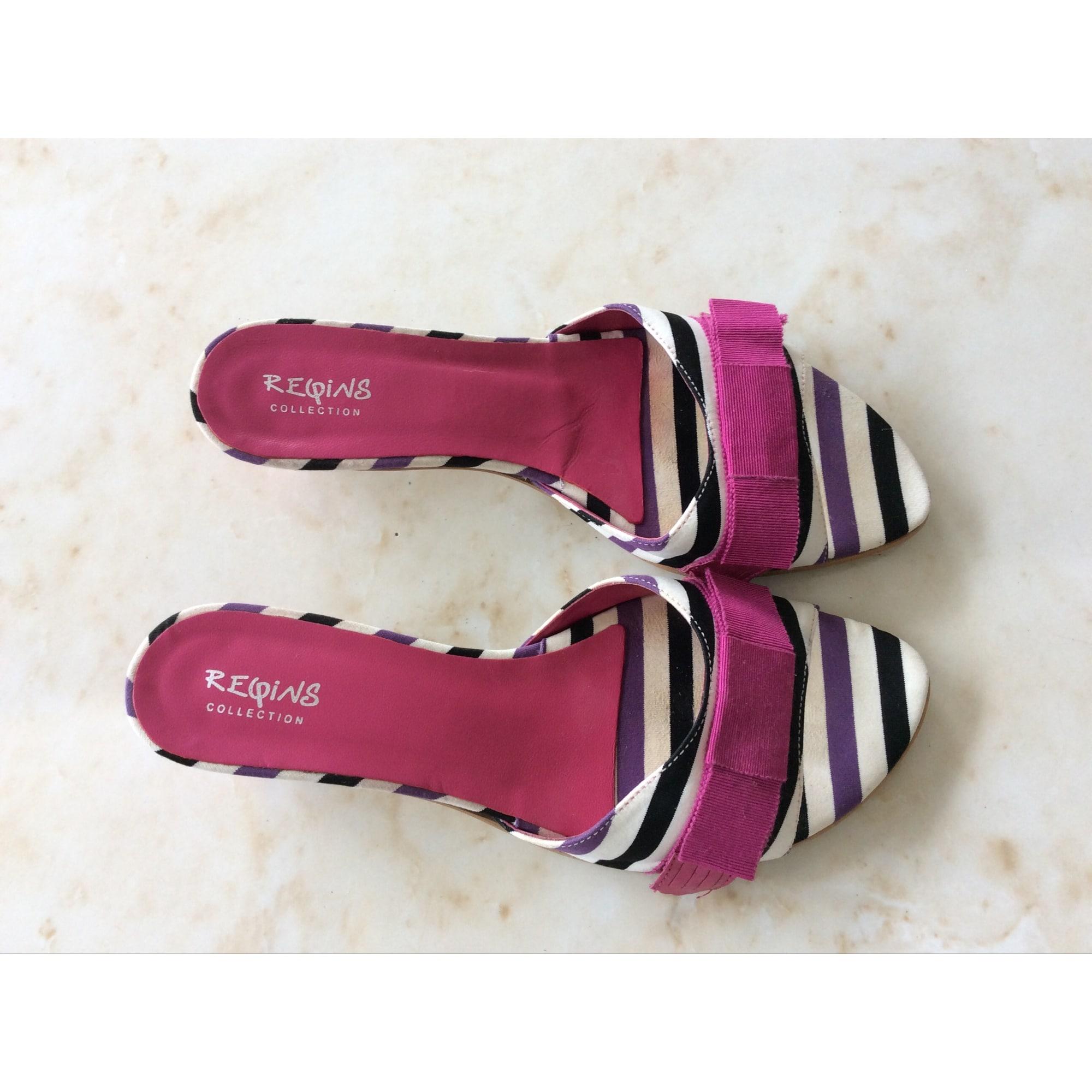 Sandales à talons REQINS Multicouleur