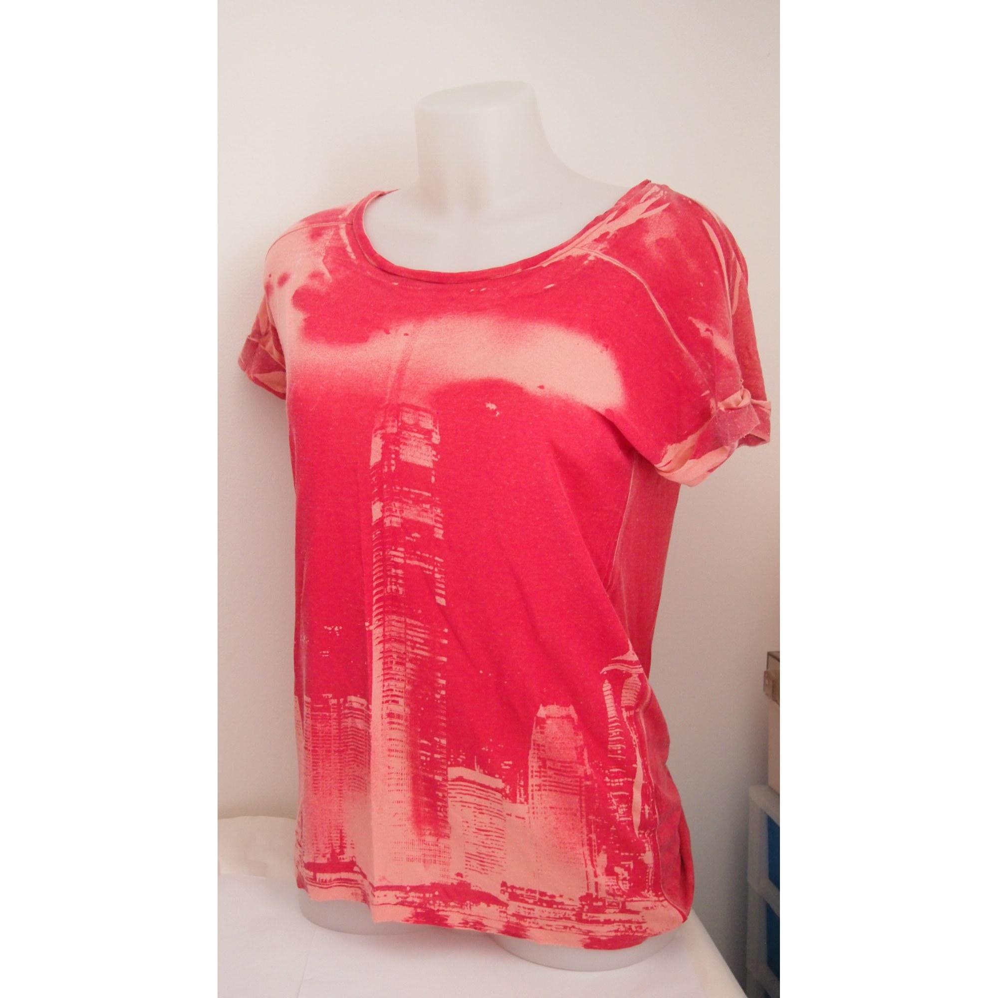 Top, tee-shirt ONLY Rose, fuschia, vieux rose