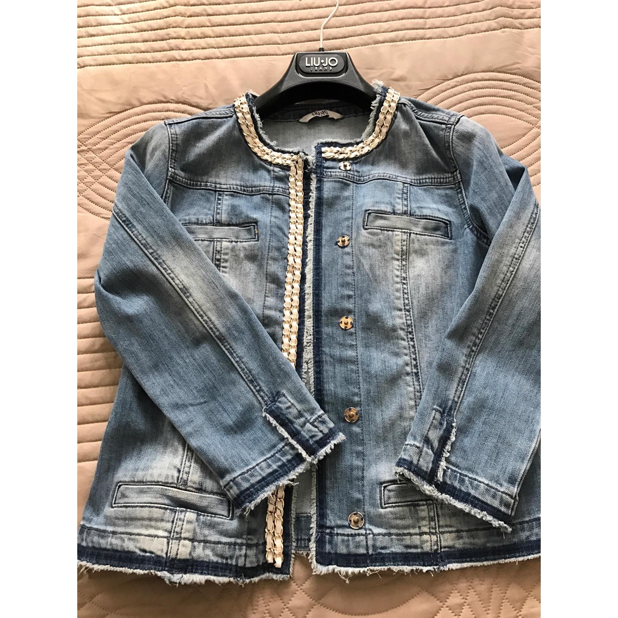 Veste en jean LIU JO 40 (L, T3) bleu vendu