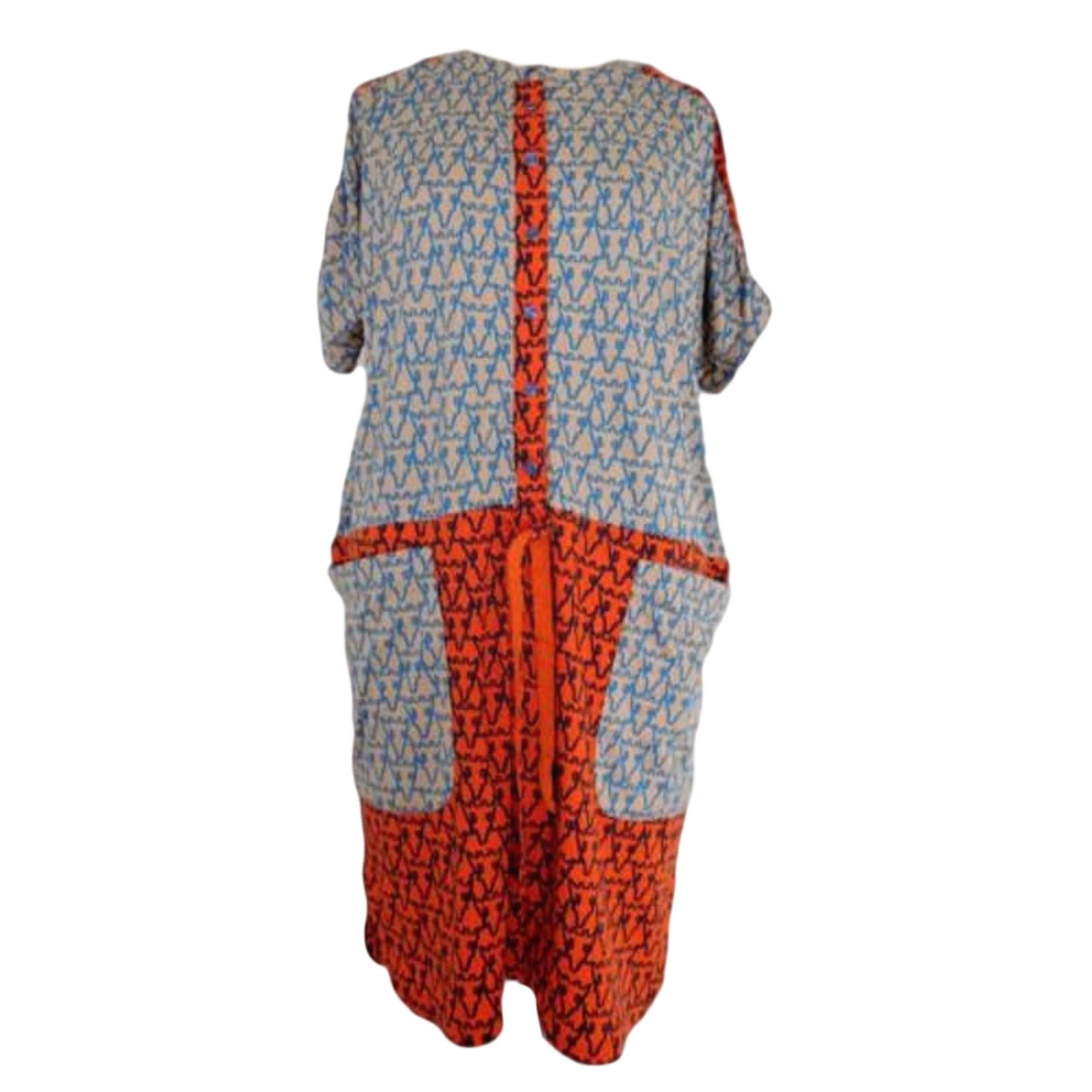 Robe mi-longue TSUMORI CHISATO Multicouleur