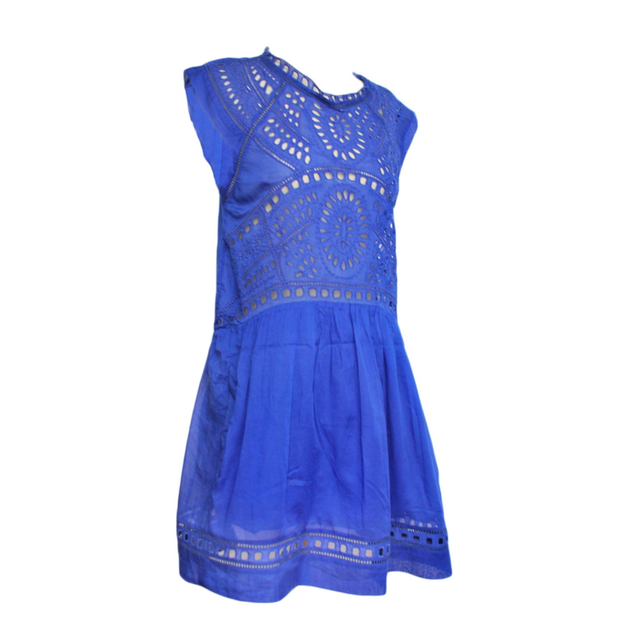 Robe mi-longue ISABEL MARANT ETOILE Bleu, bleu marine, bleu turquoise