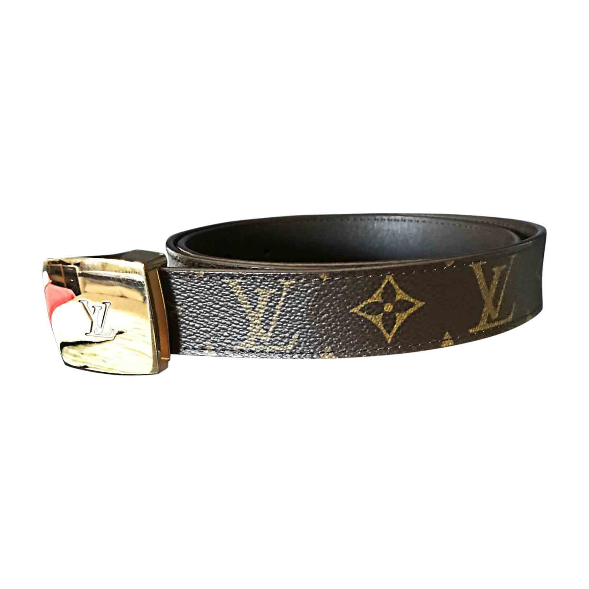 Ceinture LOUIS VUITTON 85 marron vendu par Rokvegas - 6554841 d1153c45fb2