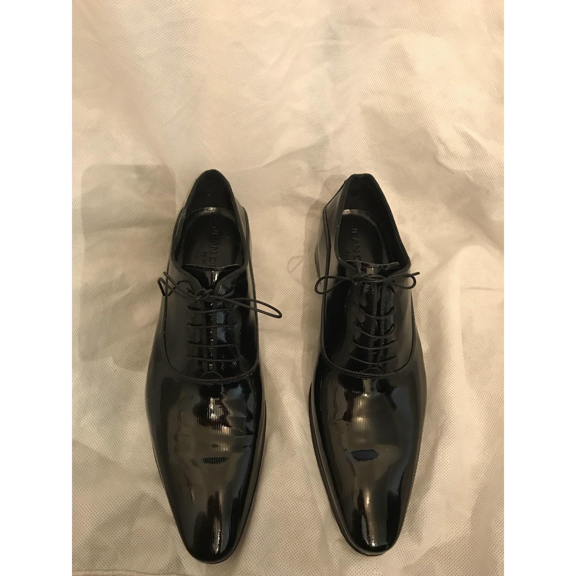 f6a9c057494 Chaussures à lacets JEAN DE SEY 43 noir - 6555212