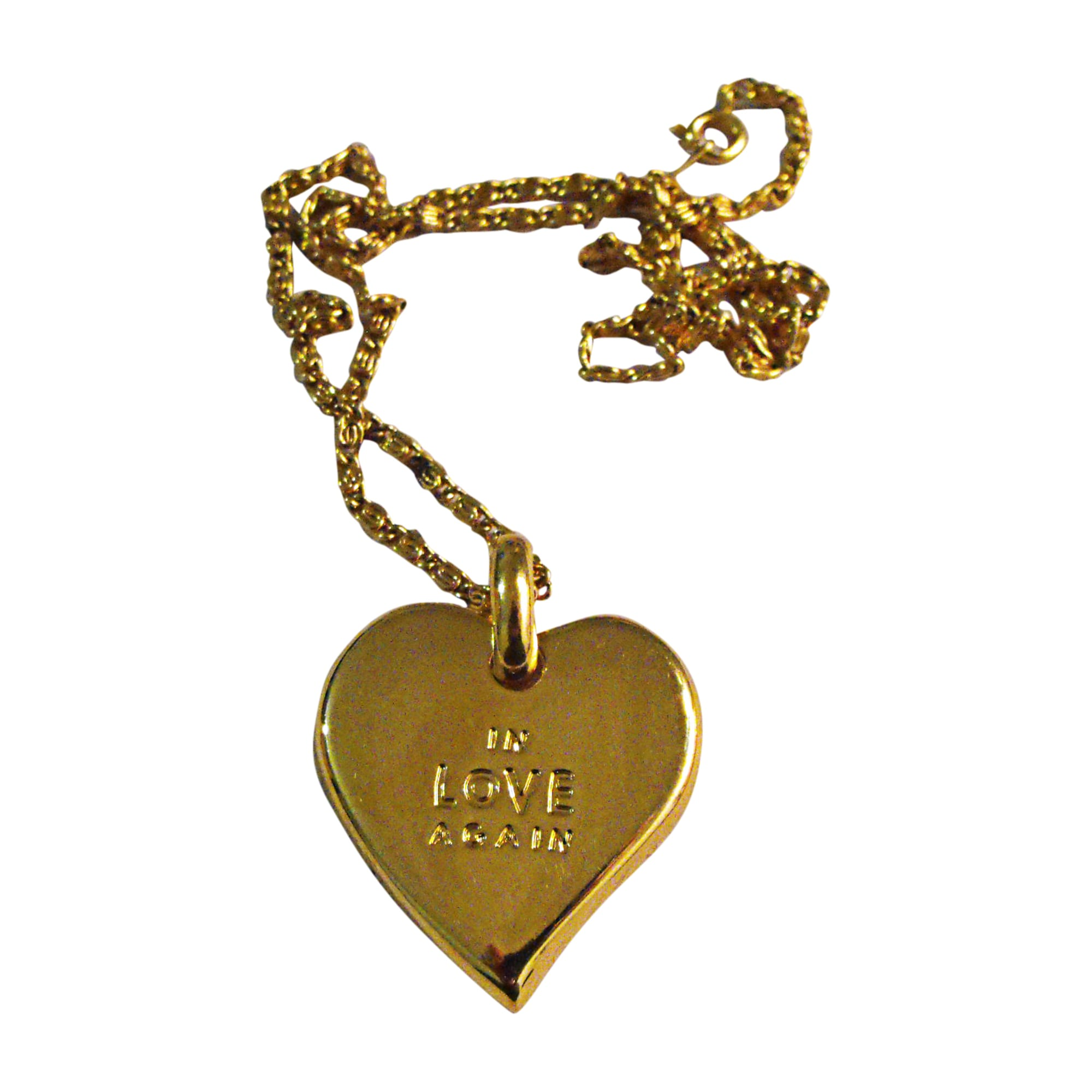 Necklace YVES SAINT LAURENT Golden, bronze, copper