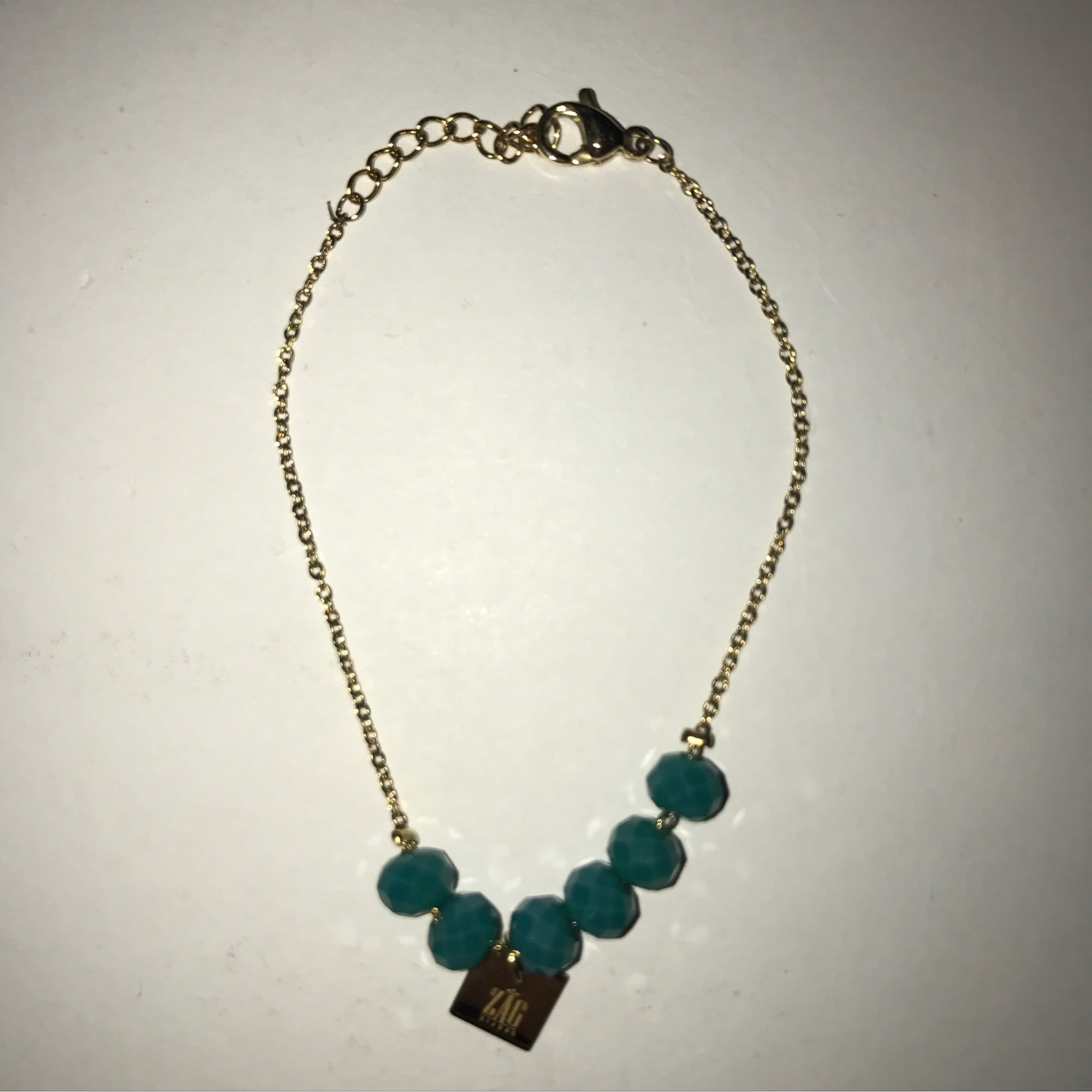 Bracelet ZAG BIJOUX Bleu, bleu marine, bleu turquoise