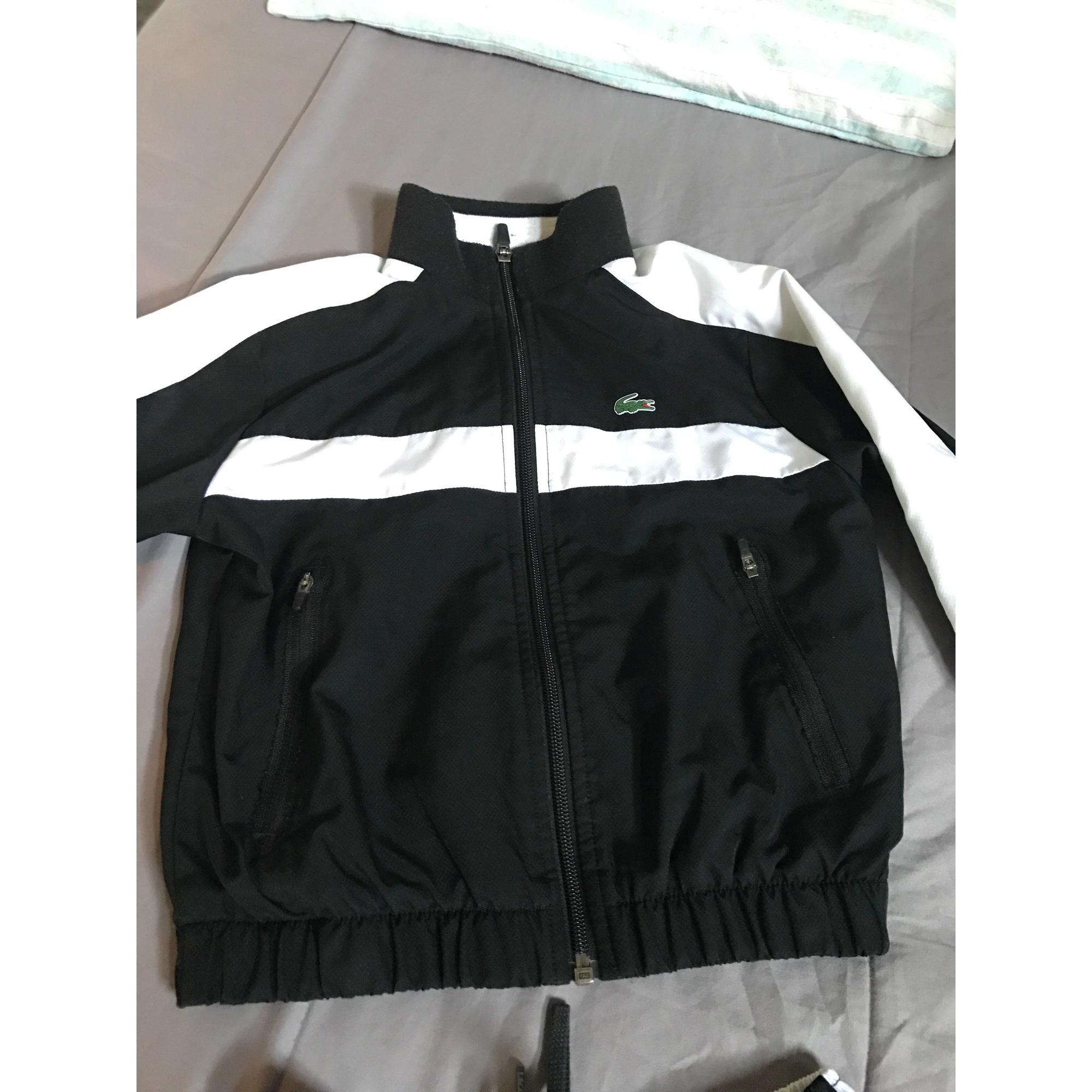 9ae1e8f17e54 Ensemble jogging LACOSTE 5-6 ans noir vendu par D'alexandra 30124235 ...
