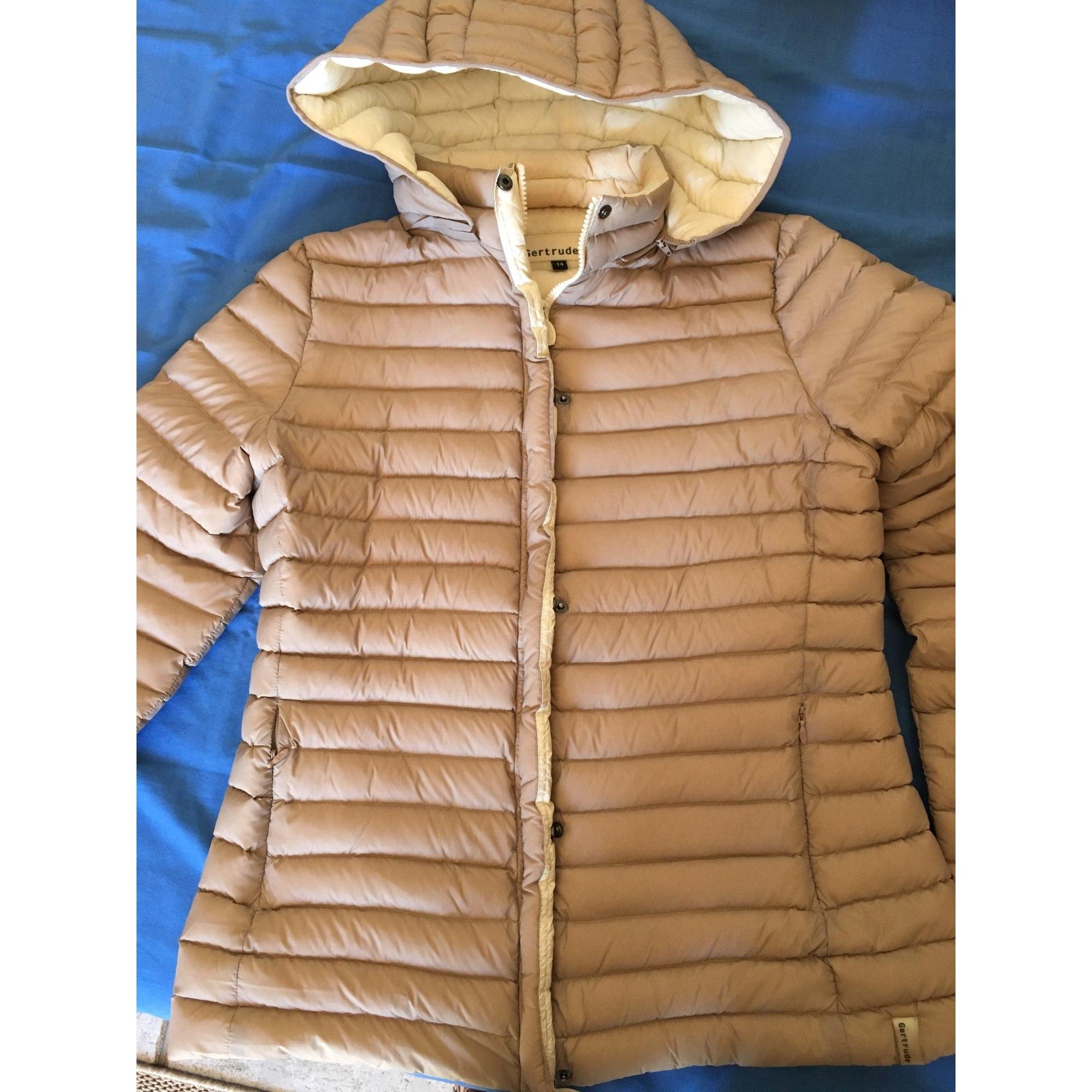 Doudoune GERTRUDE 42 (L XL, T4) beige vendu par Cerniac - 6586739 380d4d3ade52