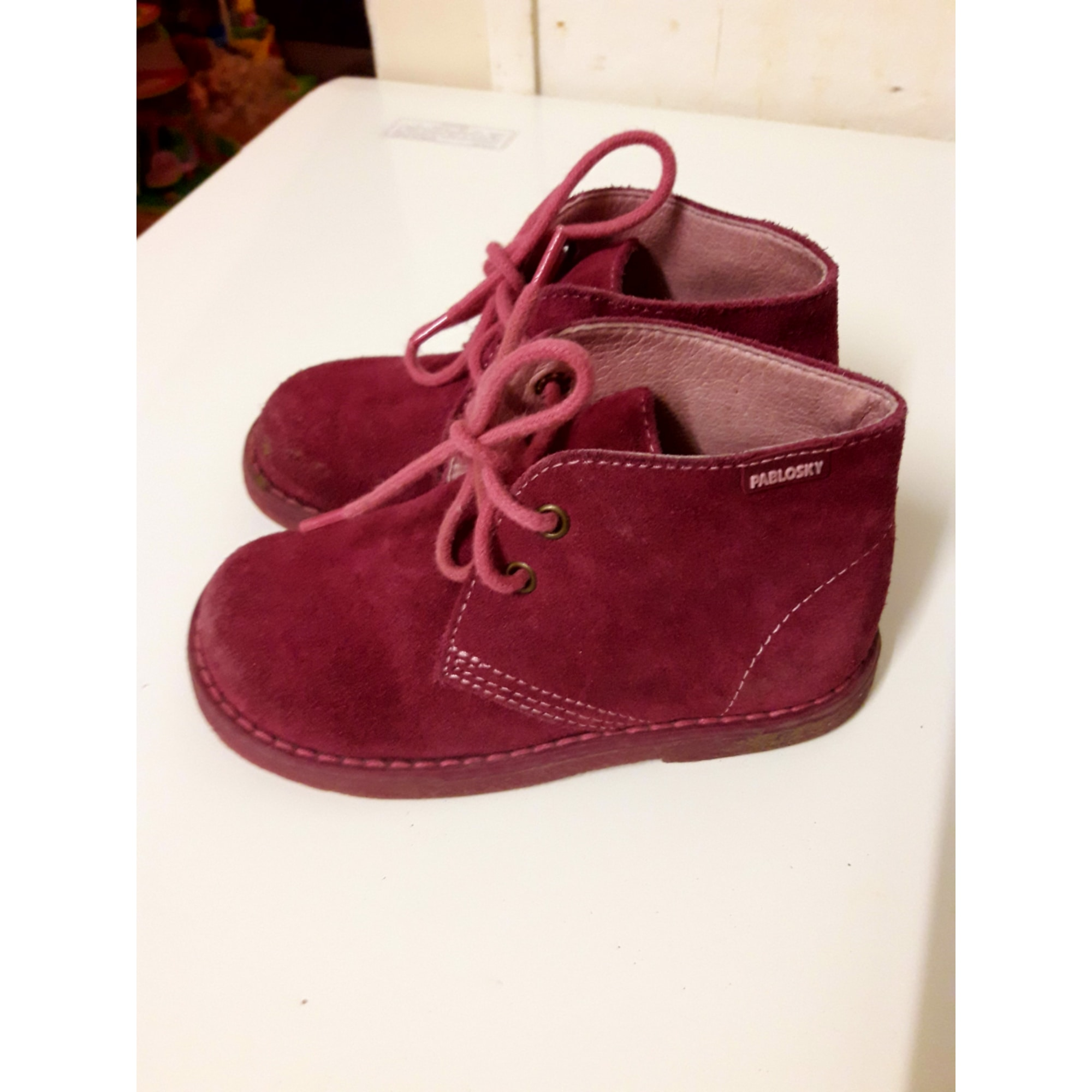 c33575bf88791 Chaussures à lacets PABLOSKY 25 rose - 6606998