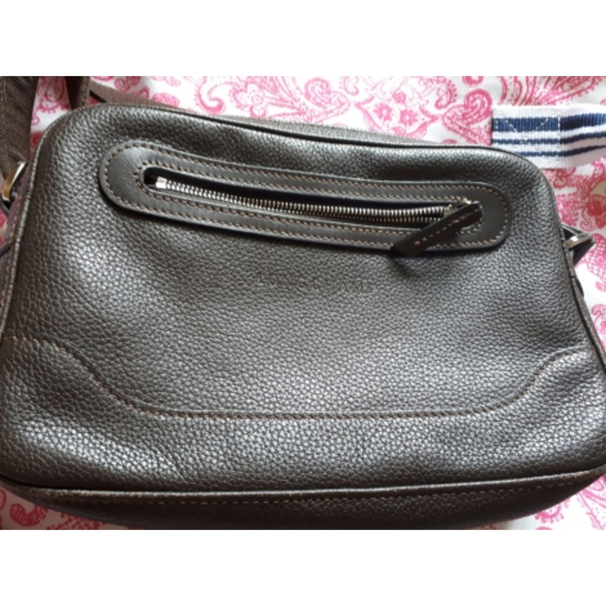 in marrone pelle Longchamp da Marion tracolla a venduta Borsa xq4Att