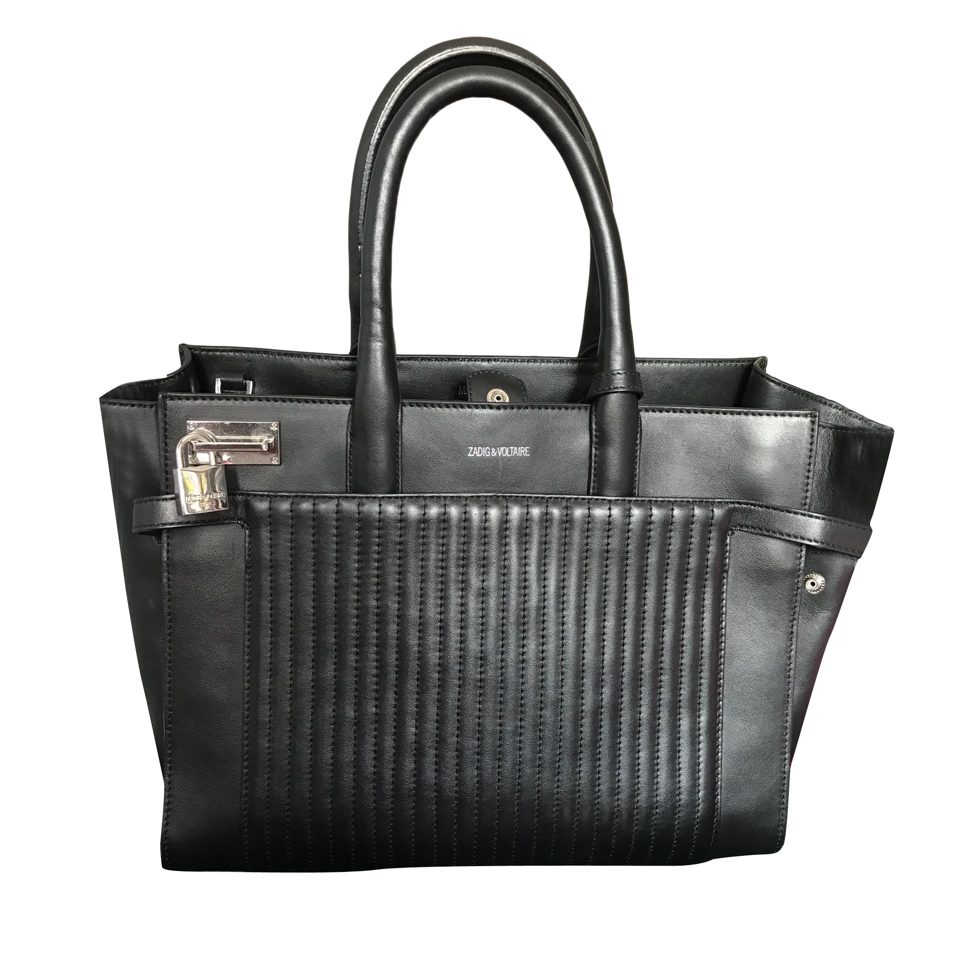 Leather Handbag ZADIG & VOLTAIRE Black