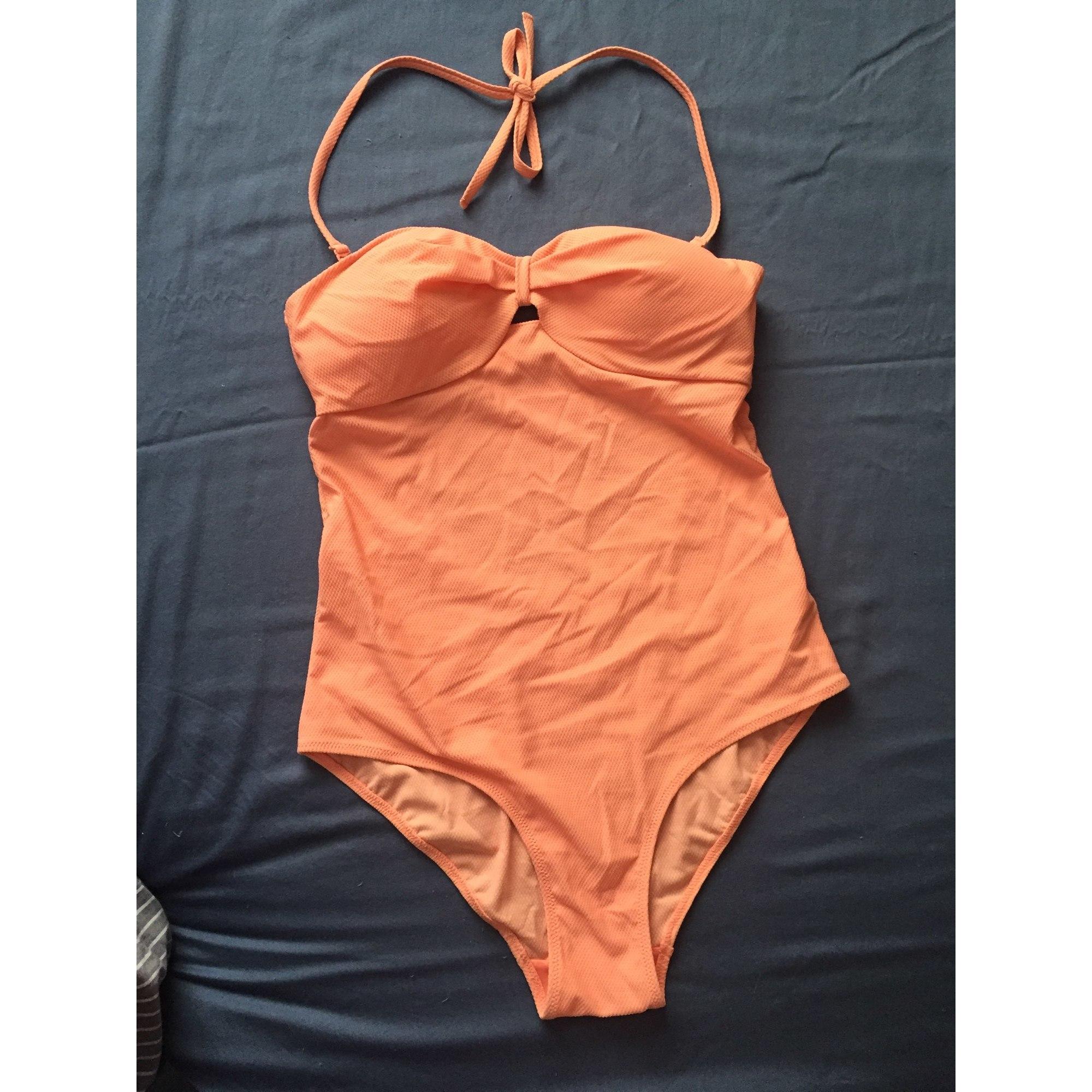 ab638ebd7a Maillot de bain une-pièce ETAM LINGERIE 40 (L, T3) orange - 6621860