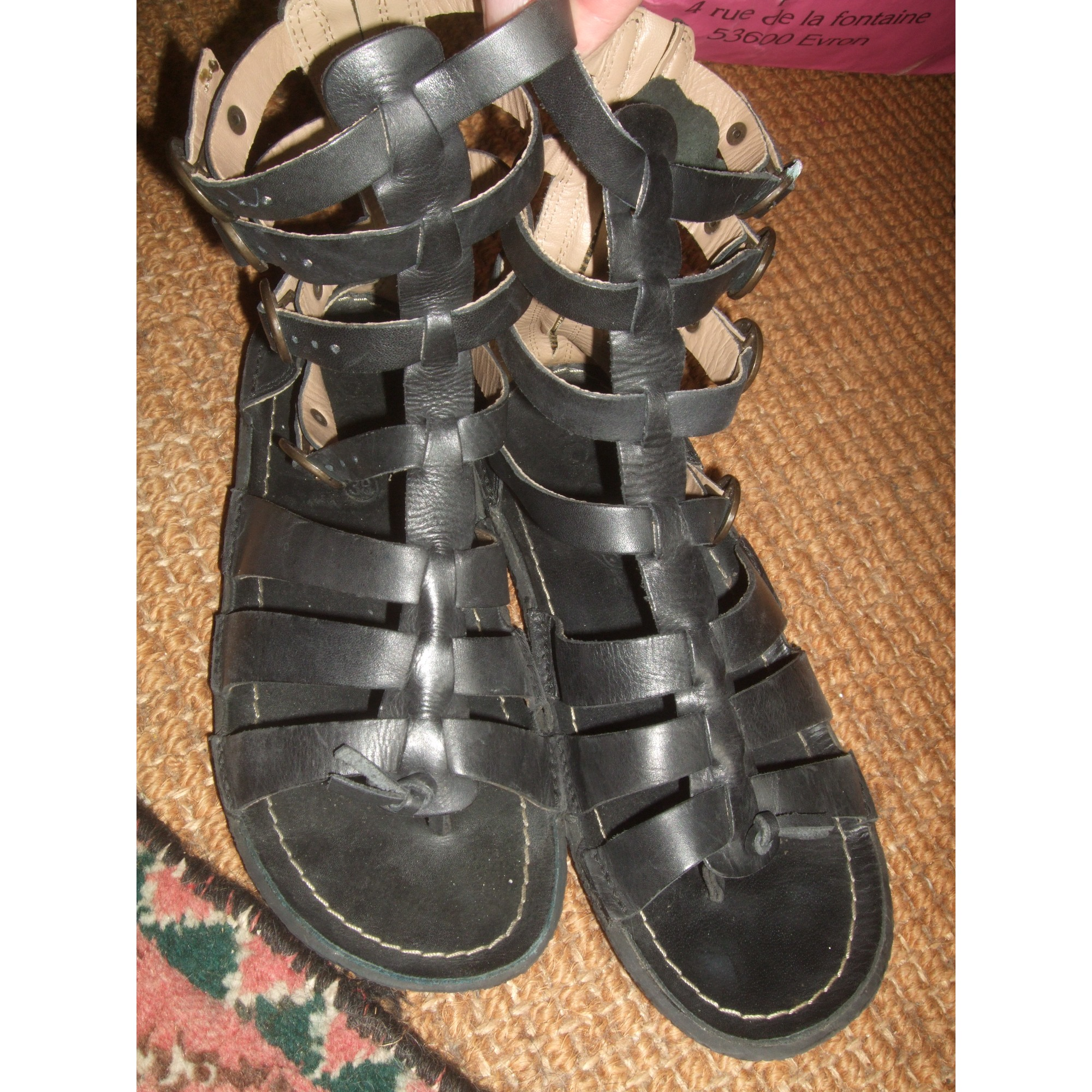 58489a9d931 Gladiators KICKERS 38 black vendu par Gladys 2108960 - 6624860