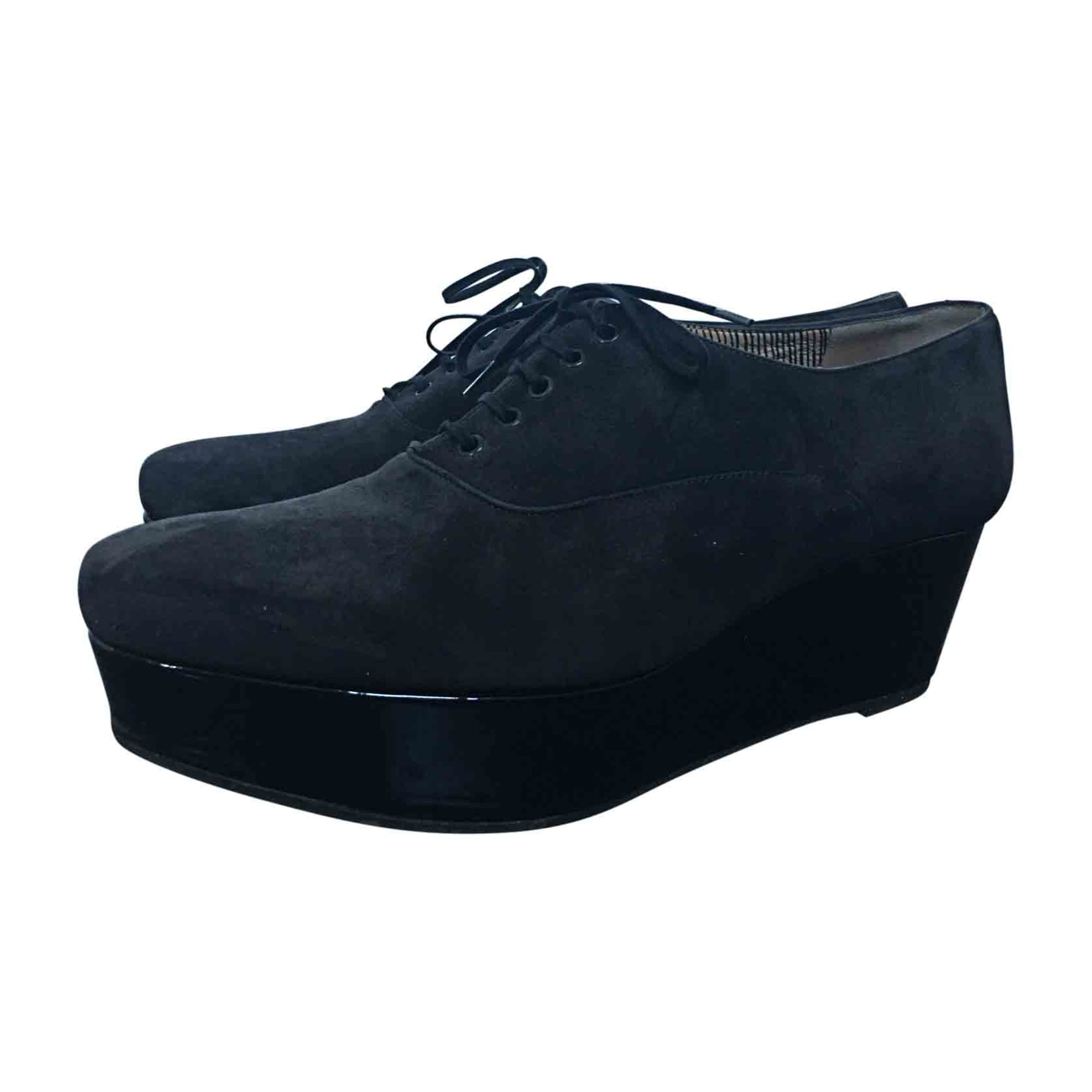 Chaussures à lacets  ROBERT CLERGERIE Gris, anthracite