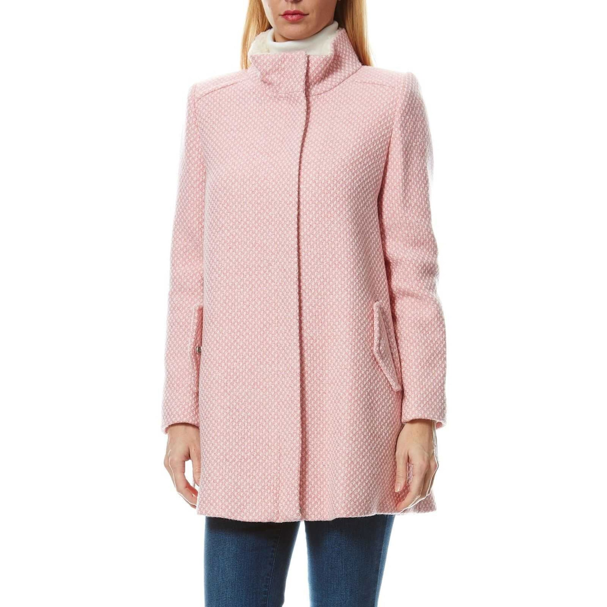 manteau rose naf naf