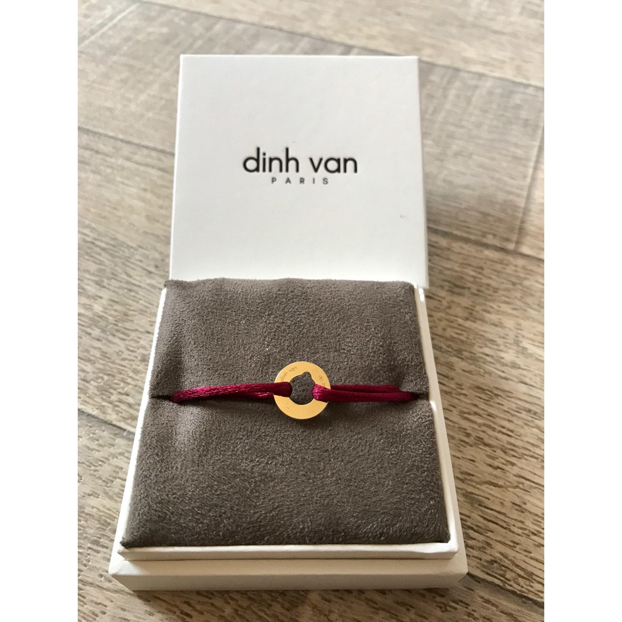 Bracelet DINH VAN Rouge foncé