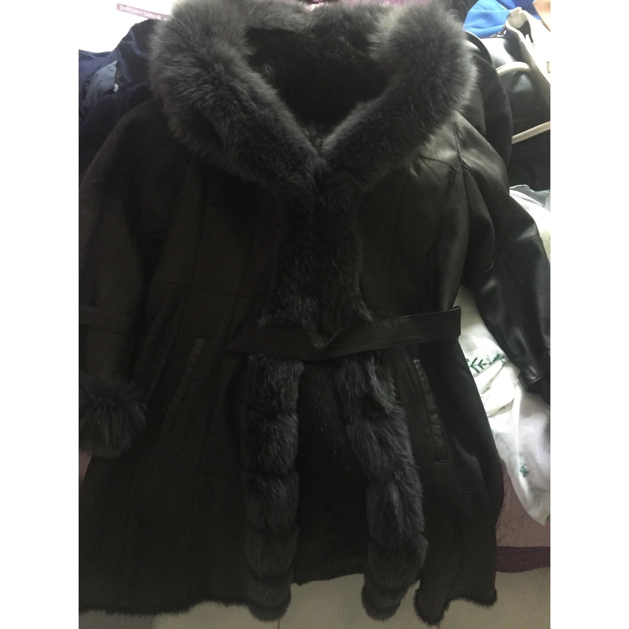 Manteau Noir 46 Fourrure 6666148 xxl Intuition En rxCq6FZr