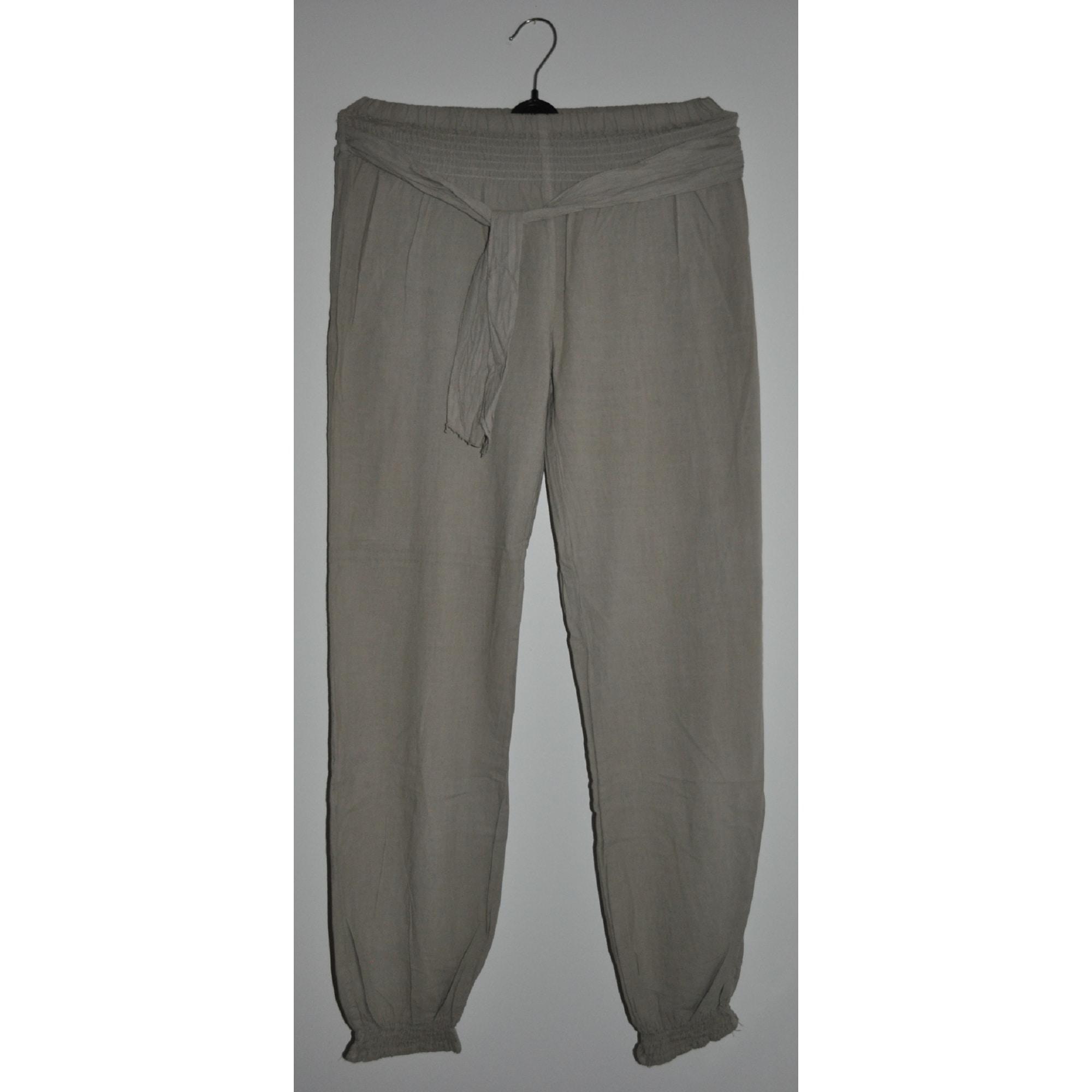 Angelie 6672350 T4 Beige 42 Pantalon Large lxl fIw5fqY