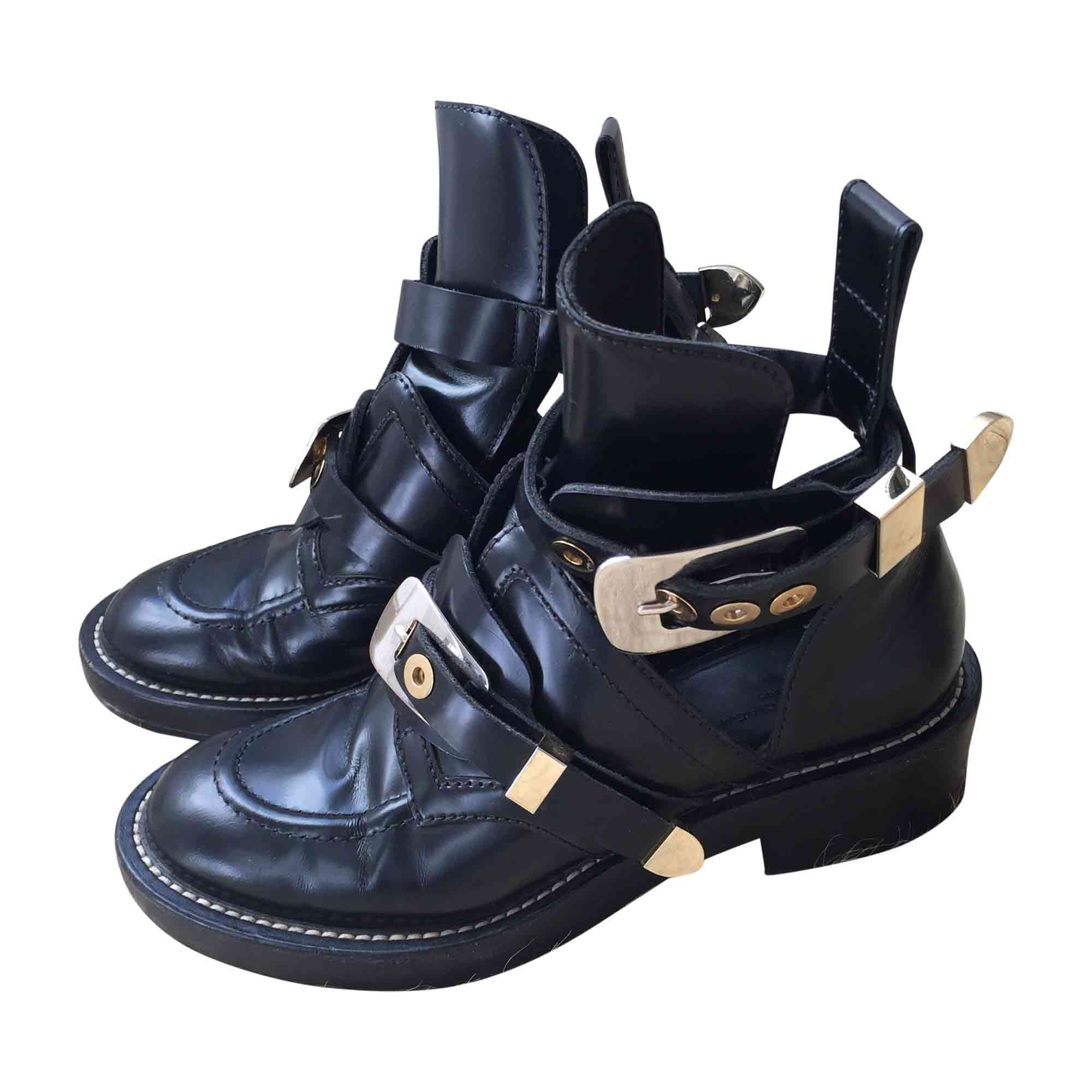 81ab3158f3896 Biker Ankle Boots BALENCIAGA 37