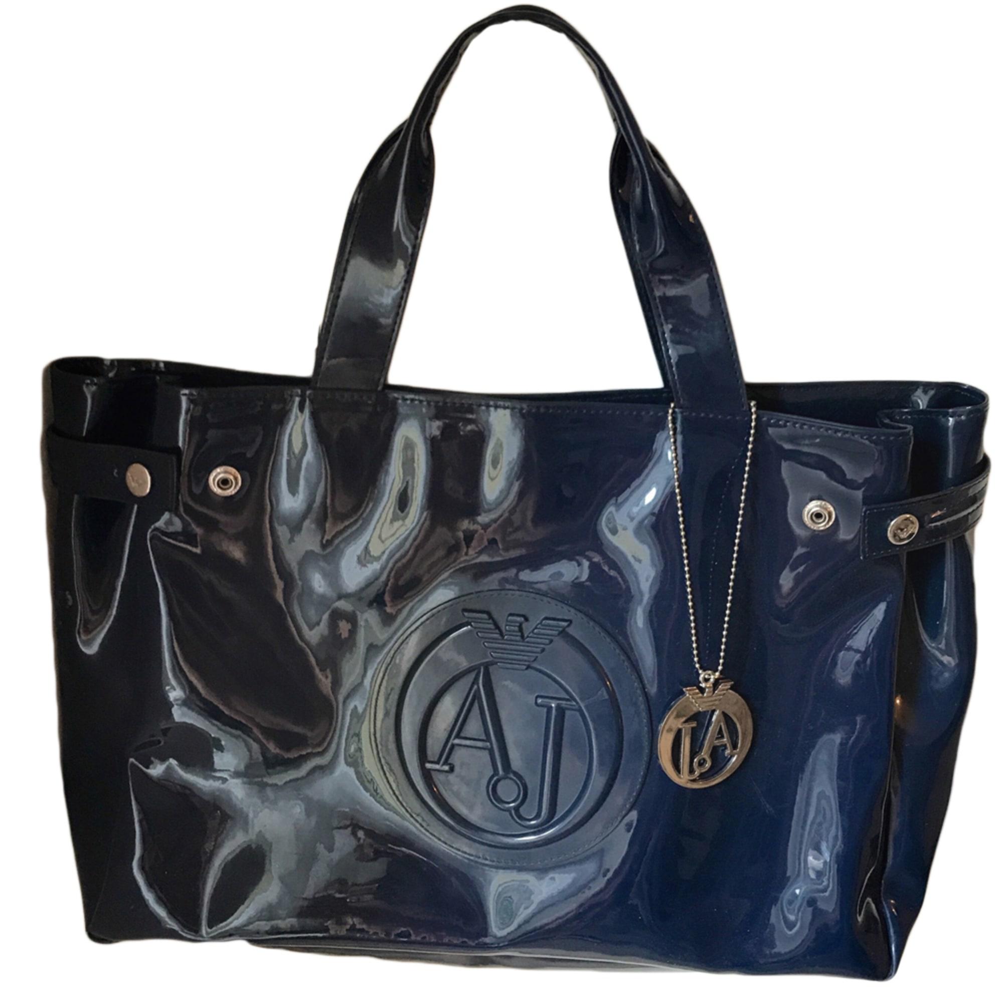 Sac à main en cuir ARMANI JEANS bleu vendu par Charlottea 20 - 6693389 d99b38e383d