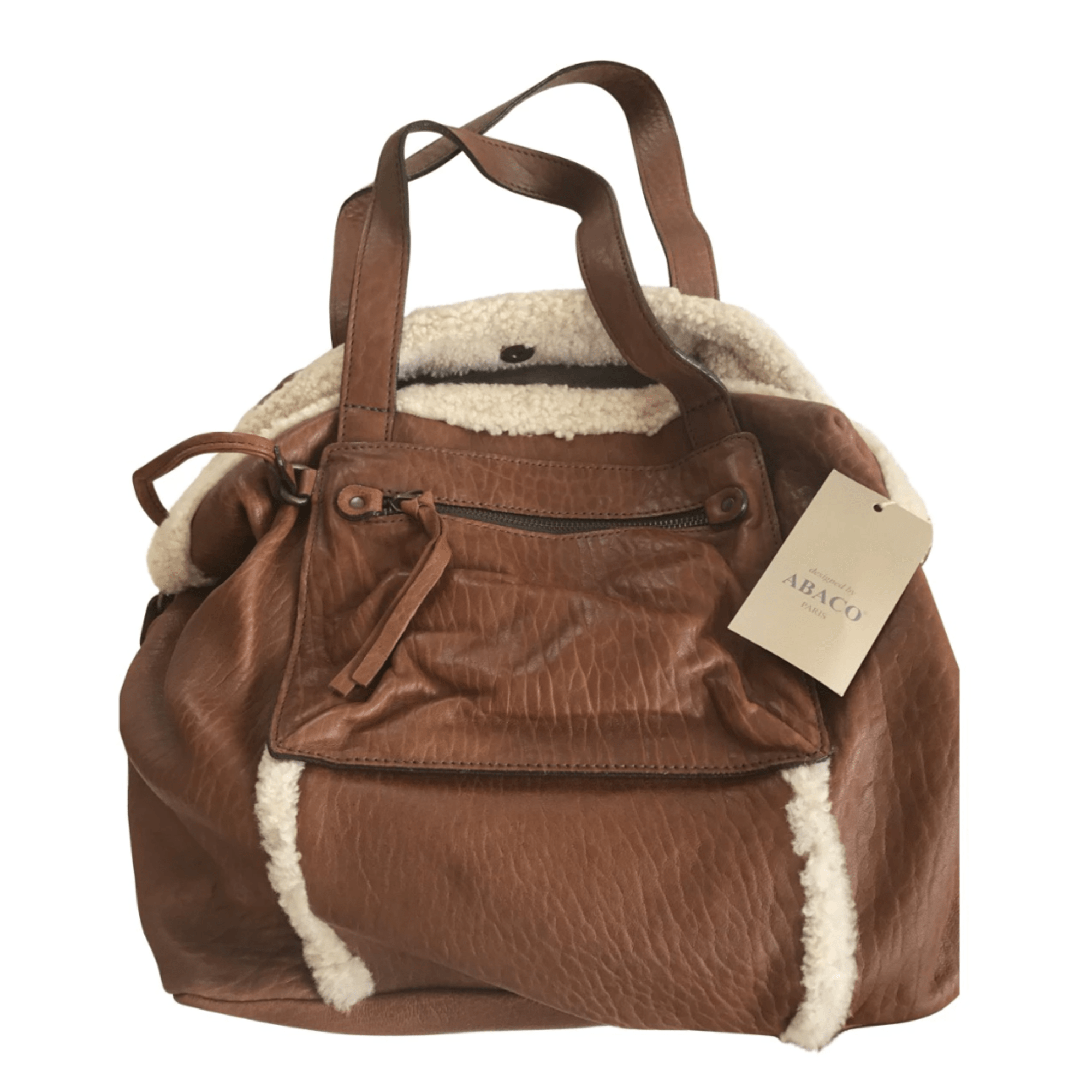 how to get pen off leather handbag