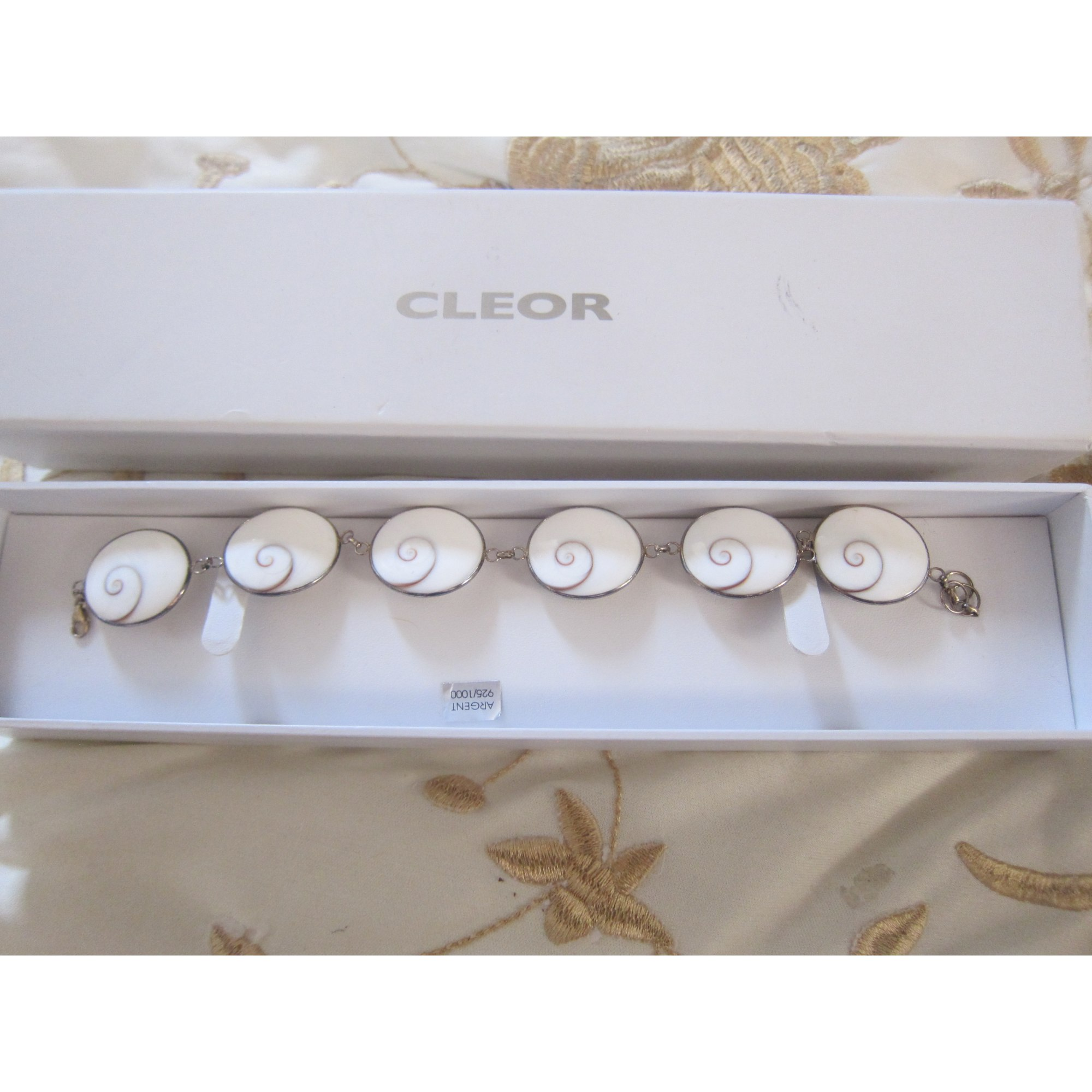 Bracelet CLEOR Argenté, acier