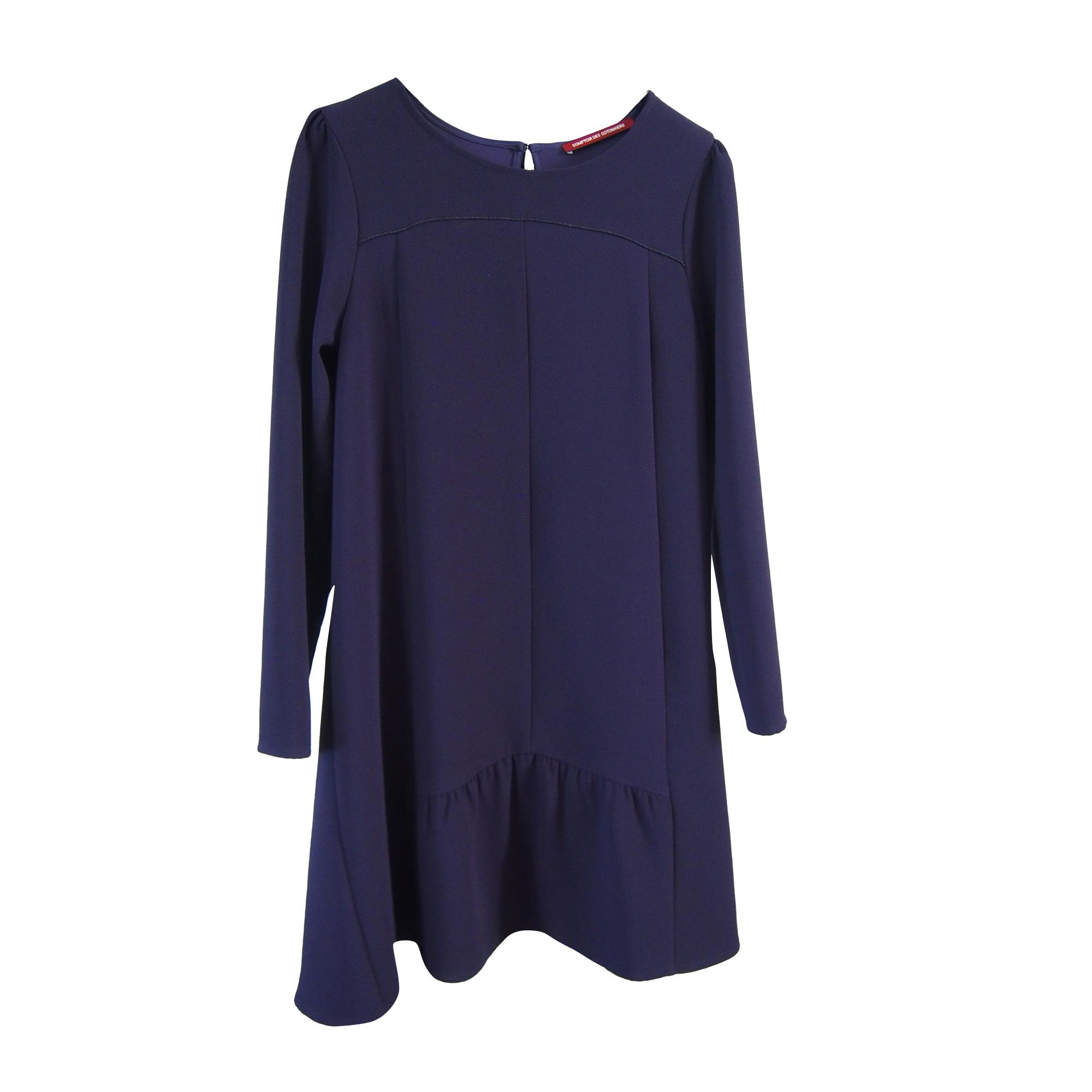 Robe mi longue comptoir des cotonniers 38 m t2 bleu - Robe longue comptoir des cotonniers ...