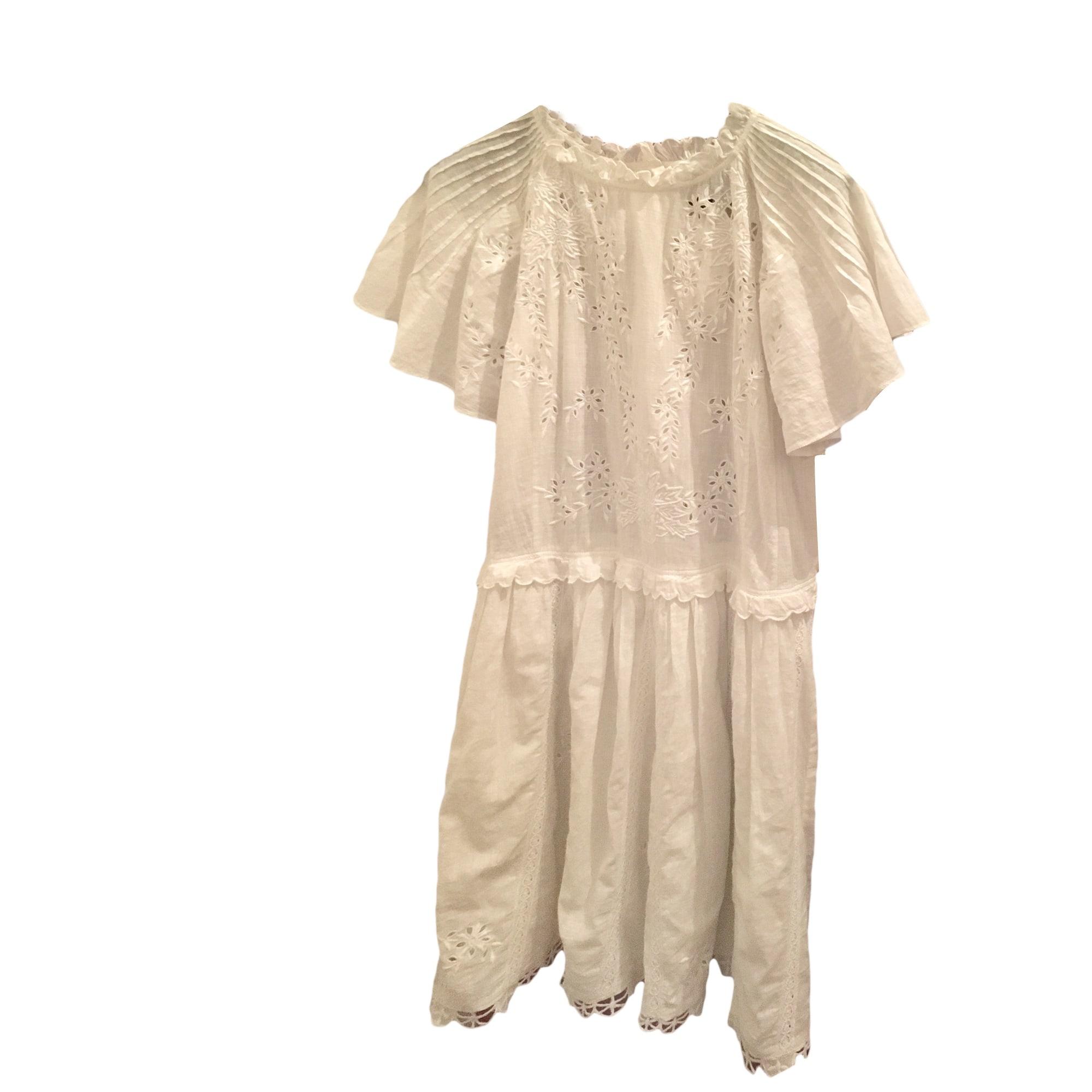 Mini-Kleid ZADIG   VOLTAIRE 36 (S, T1) weiß vendu par ... 286bad76d5