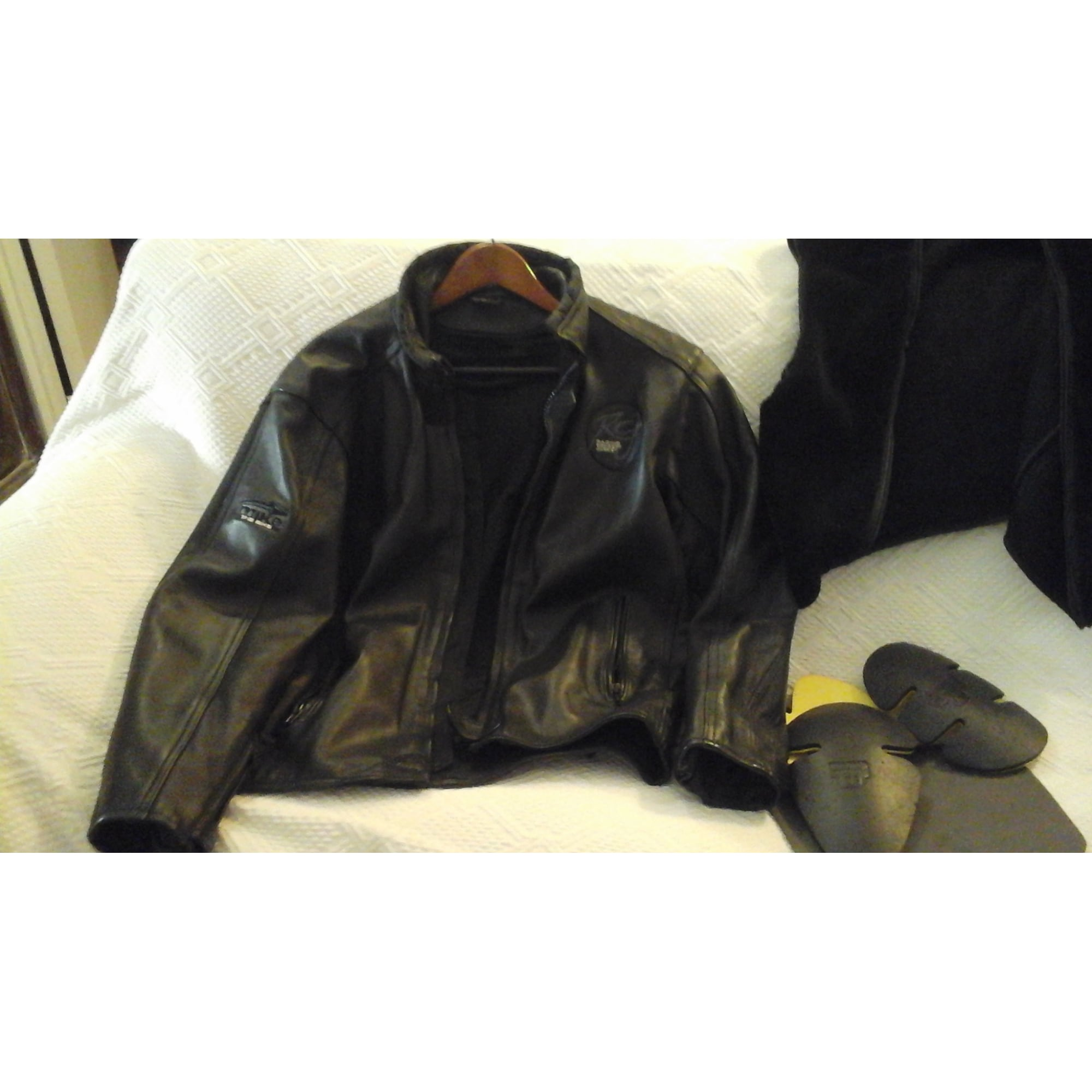T3 En 6734681 l The 40 Noir Blouson Bike Cuir Mike 1qxxP0
