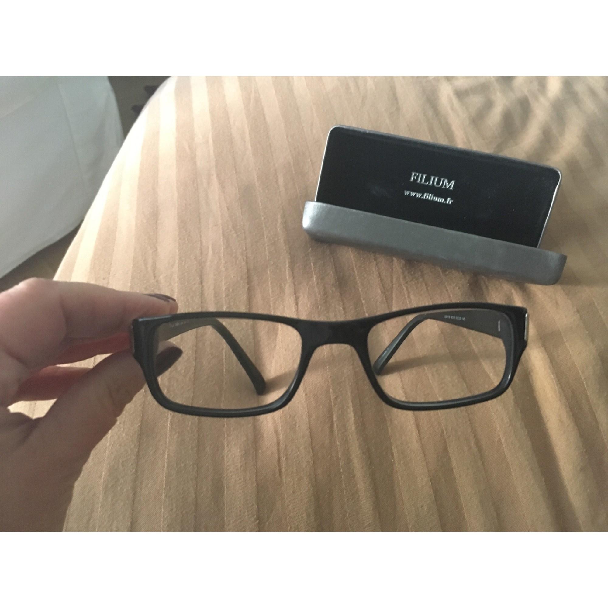 afac79e2d5 Monture de lunettes FILIUM noir - 6736282