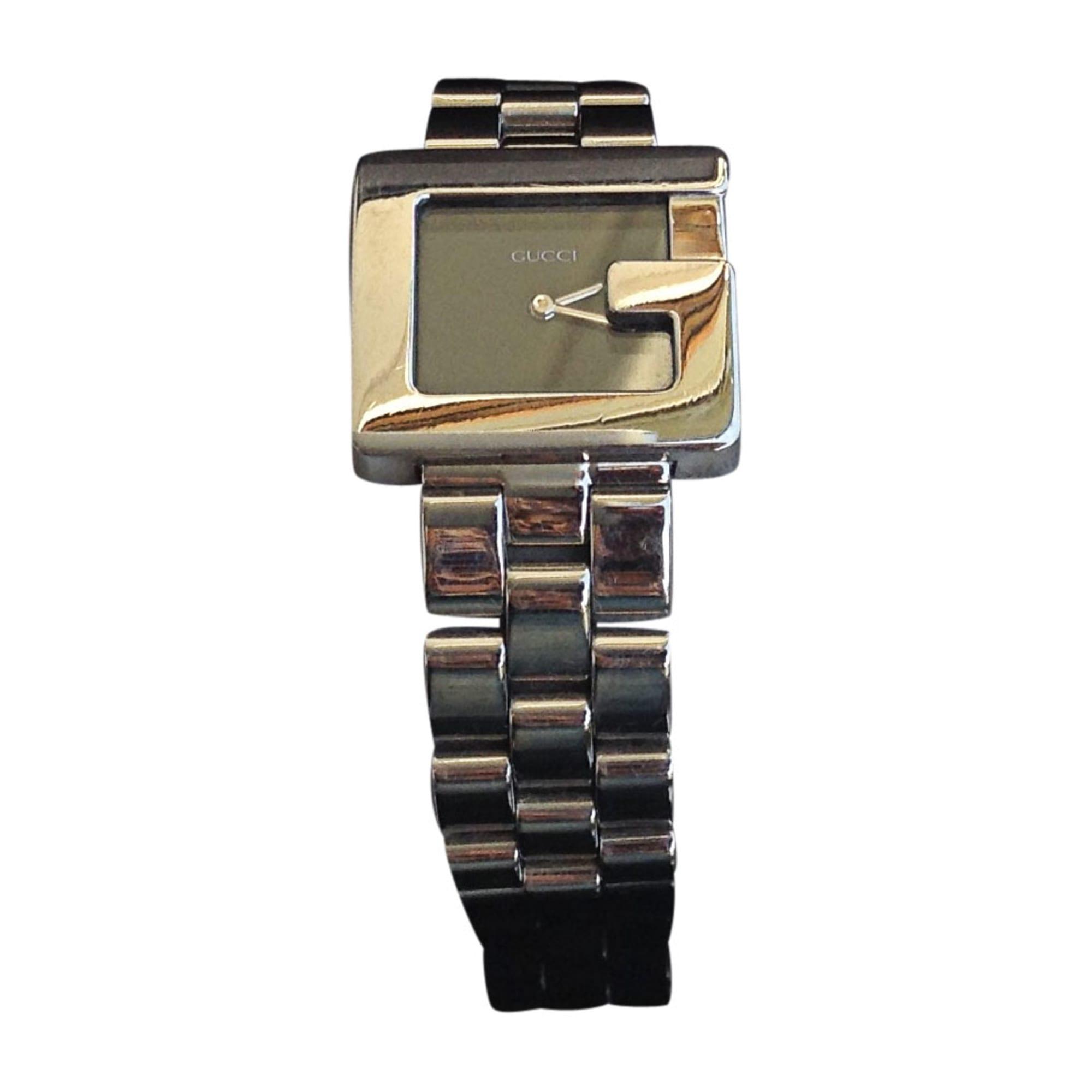 85a810e517a3 Montre au poignet GUCCI argenté vendu par Enjoybijou - 6740226