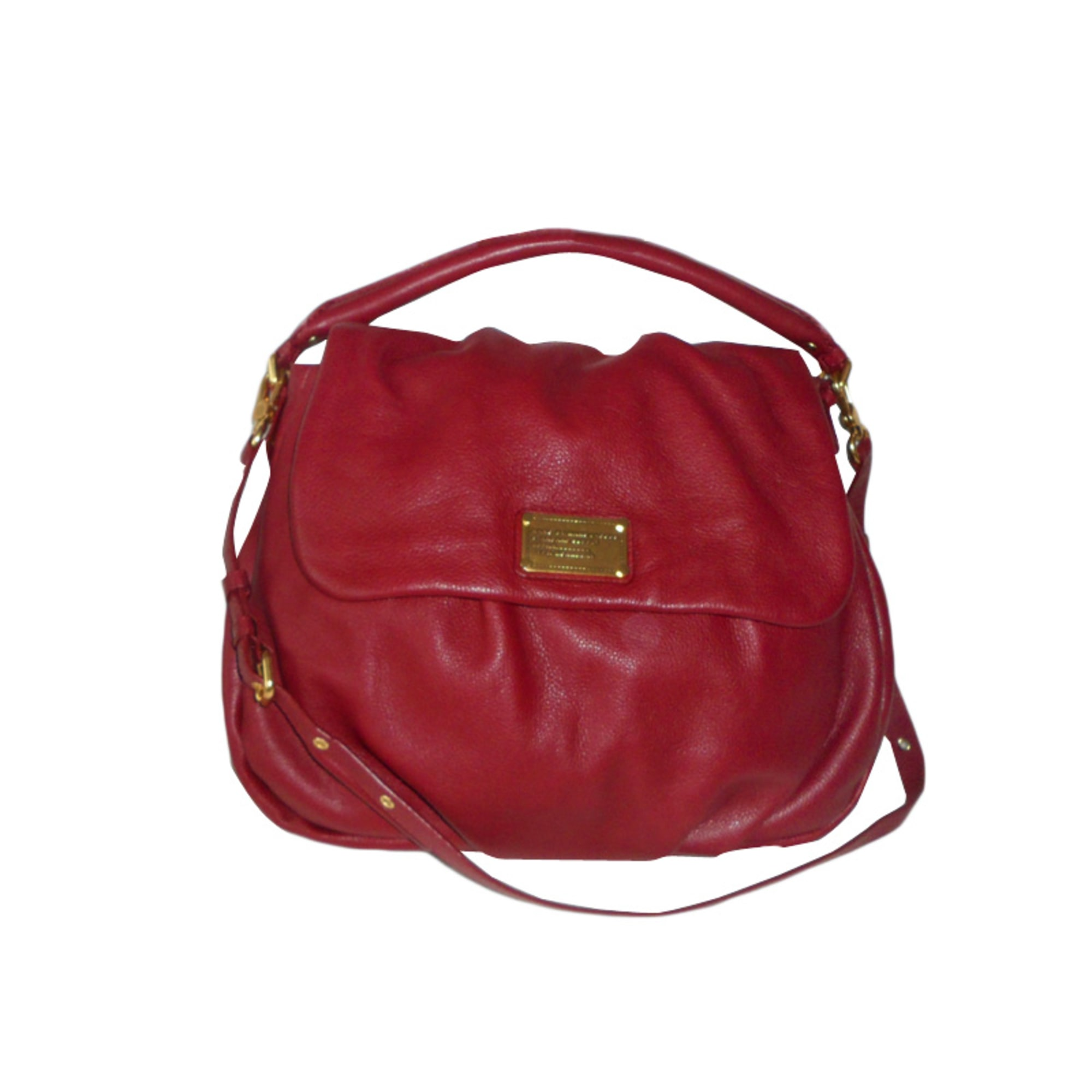 Sac à main en cuir MARC JACOBS rouge vendu par So vpc75765 - 674112 0e0664160d72